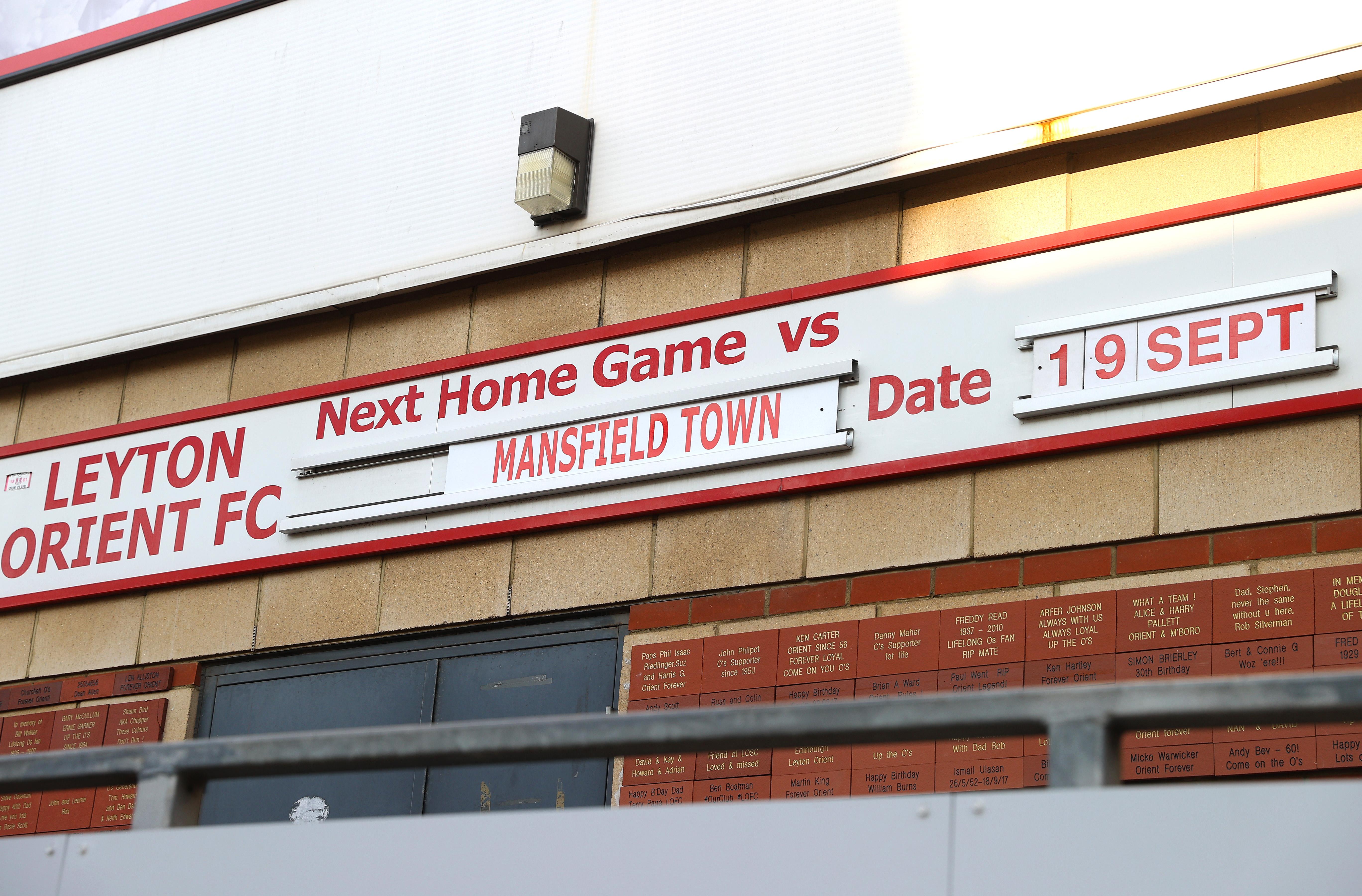 Leyton Orient v Tottenham Hotspur - Carabao Cup Third Round