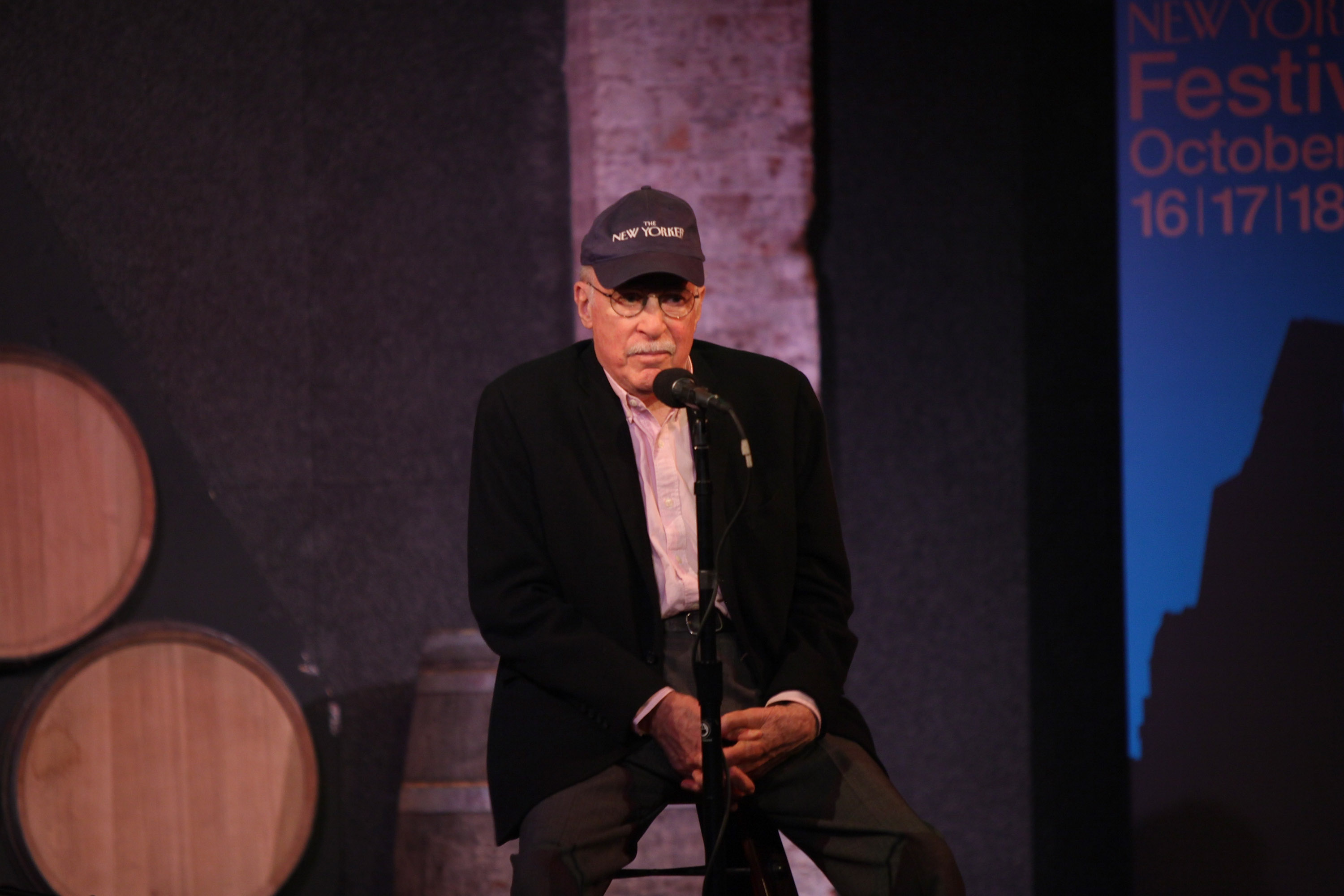 """The 2009 New Yorker Festival: THE MOTH """"Tales Out of School"""""""