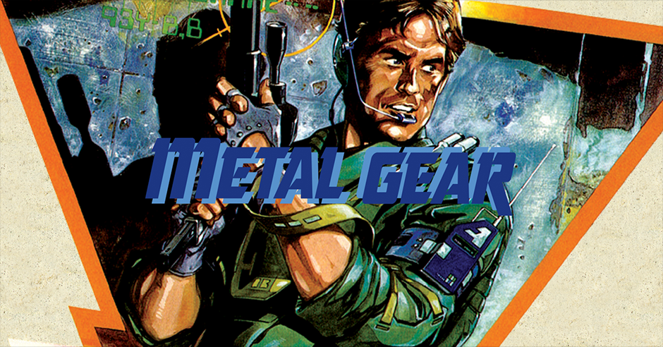 cover art for the original Metal Gear
