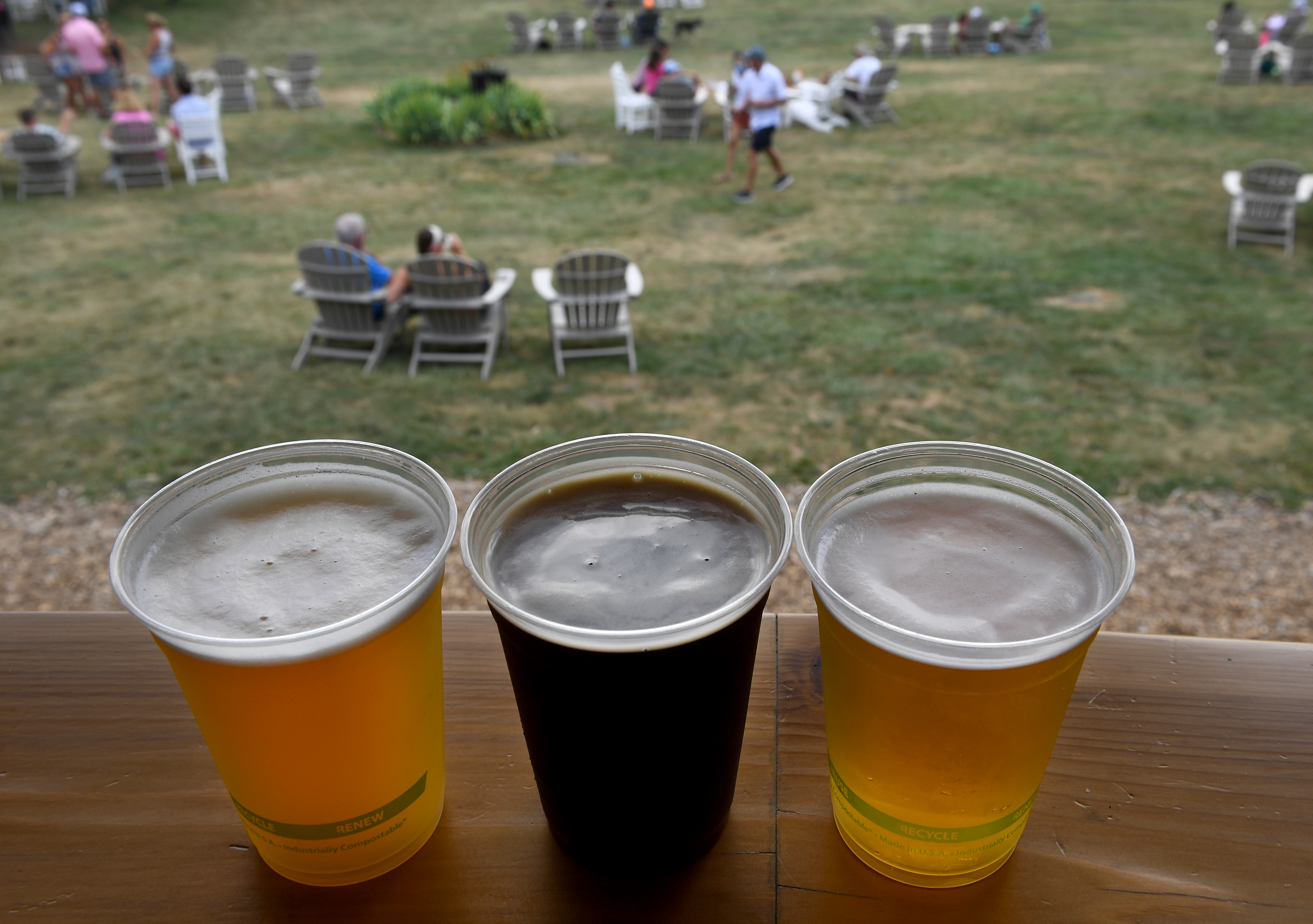Bear Chase Brewing Company offers room to spread out and enjoy beer, wine and cider during the coronavirus pandemic