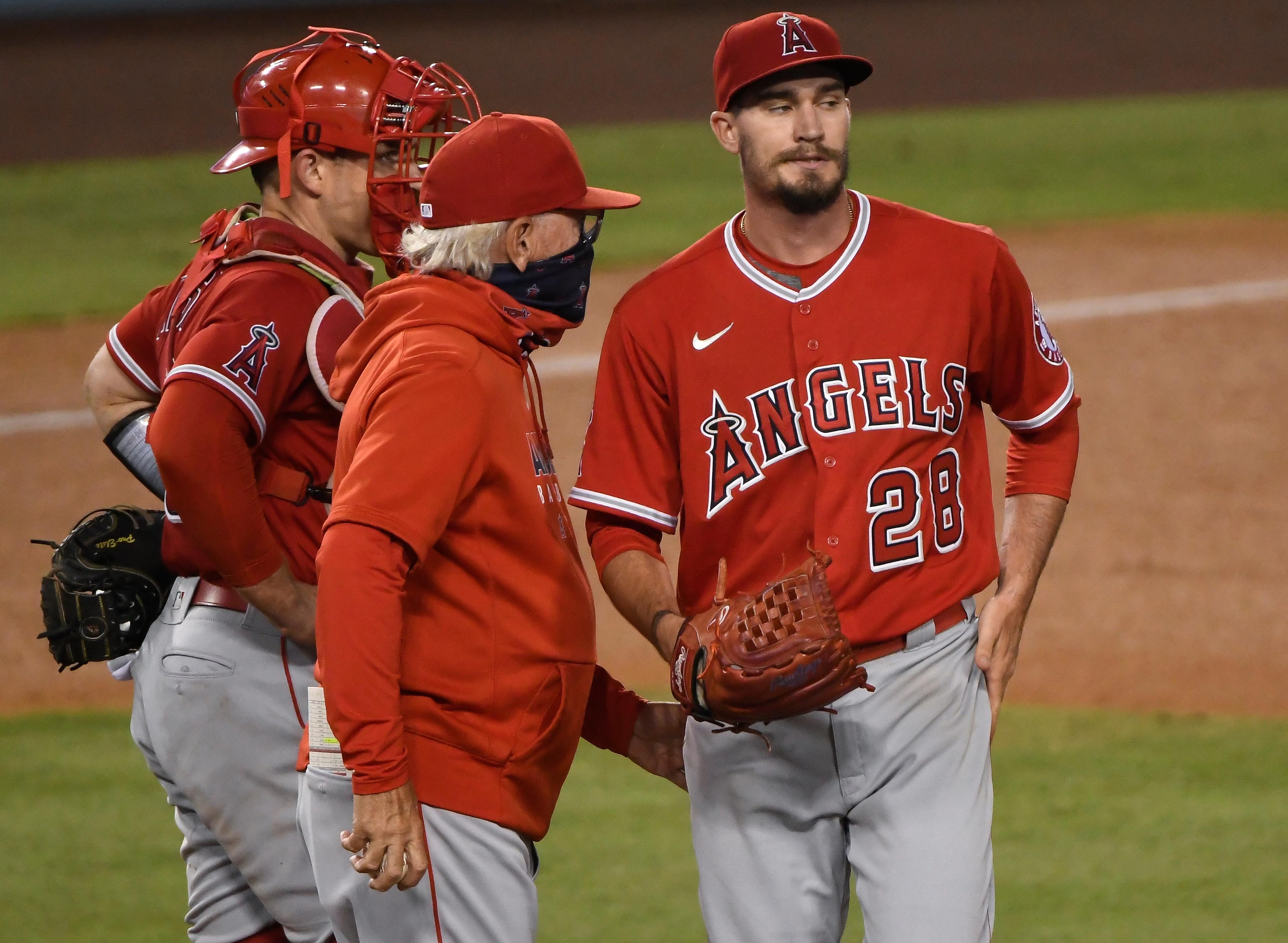 MLB: Los Angeles Angels At Los Angeles Dodgers