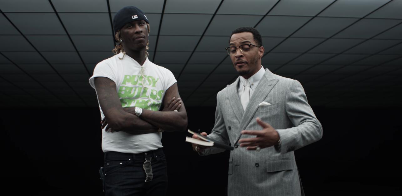 Young Thug and T.I.