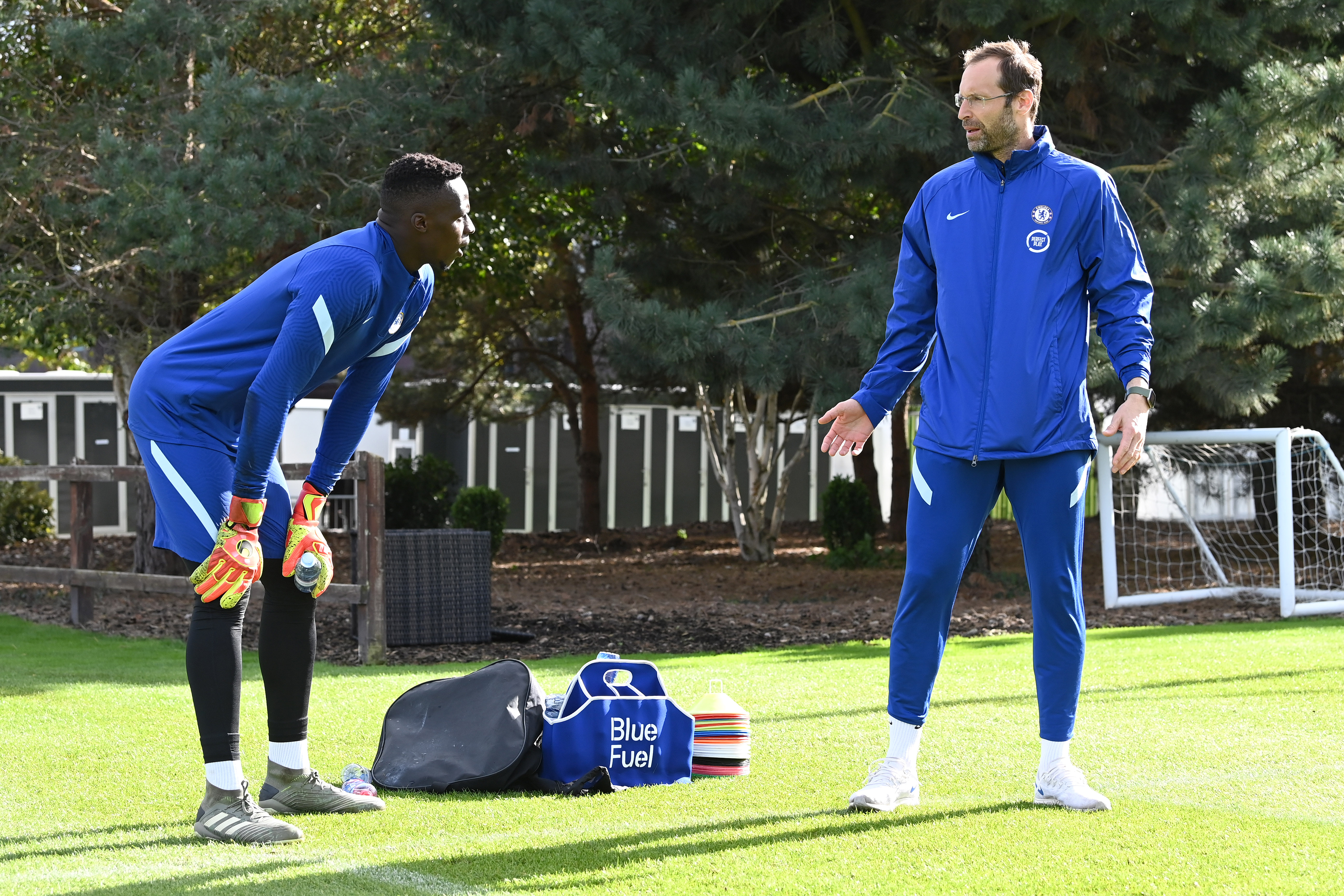 Chelsea Training and Press Confernece