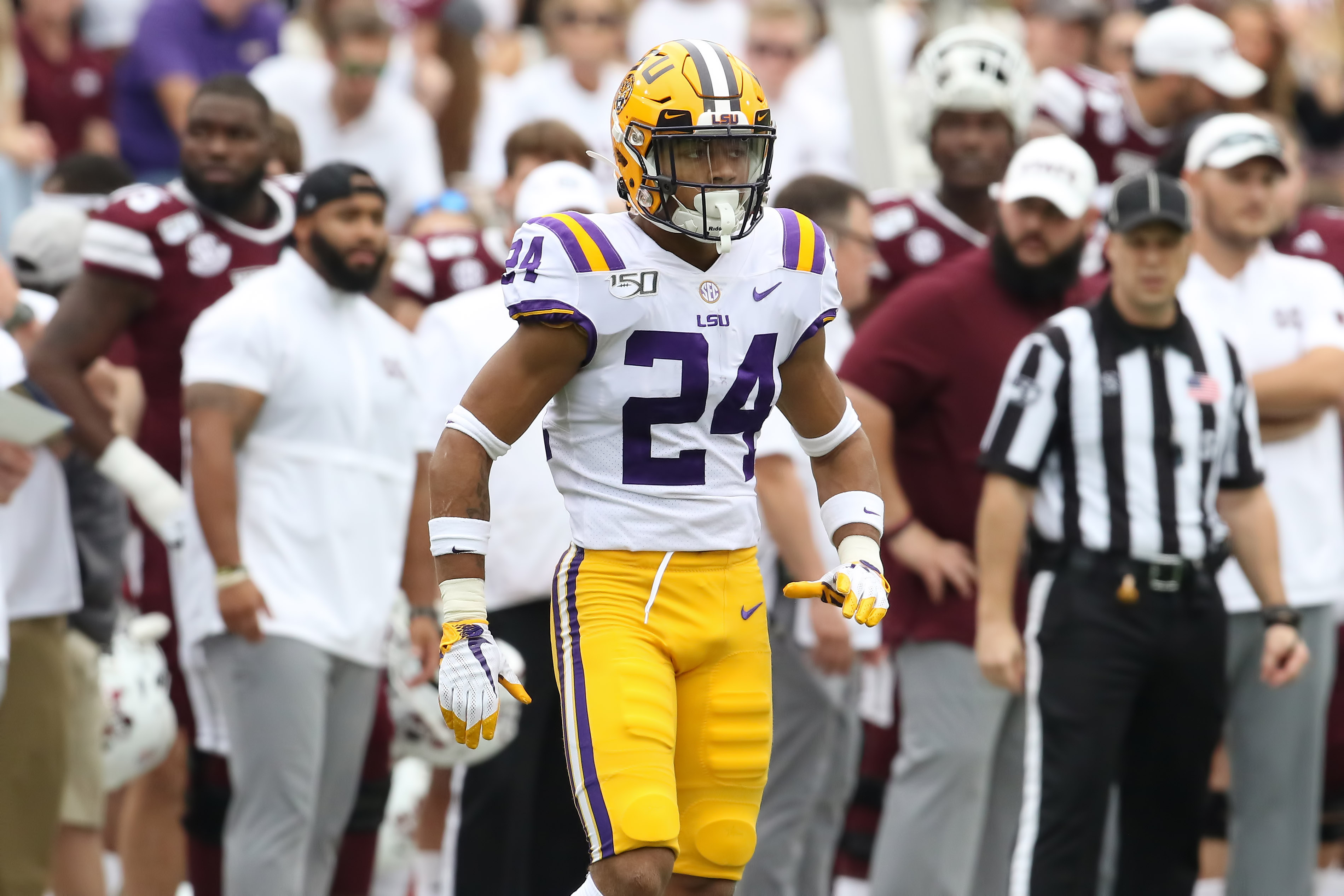 COLLEGE FOOTBALL: OCT 19 LSU at Mississippi State