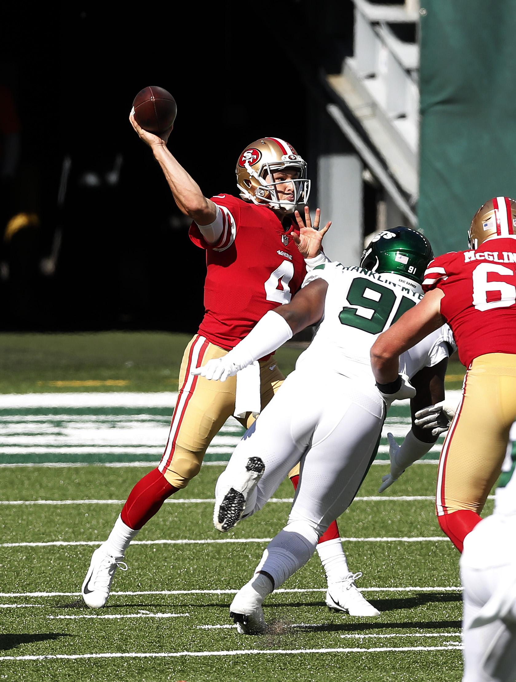 San Francisco 49ers v New York Jets
