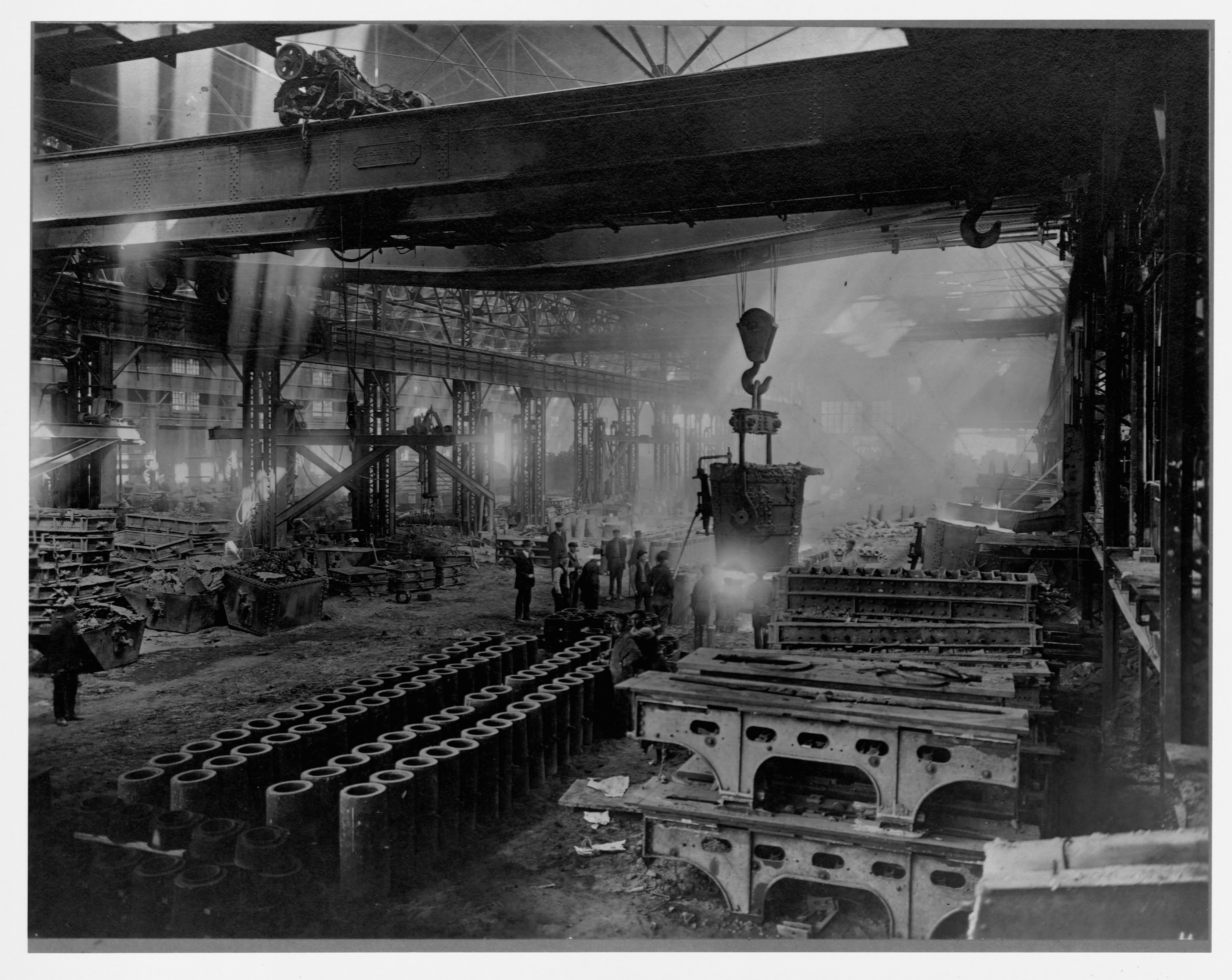 Foundry Department at Steelmill