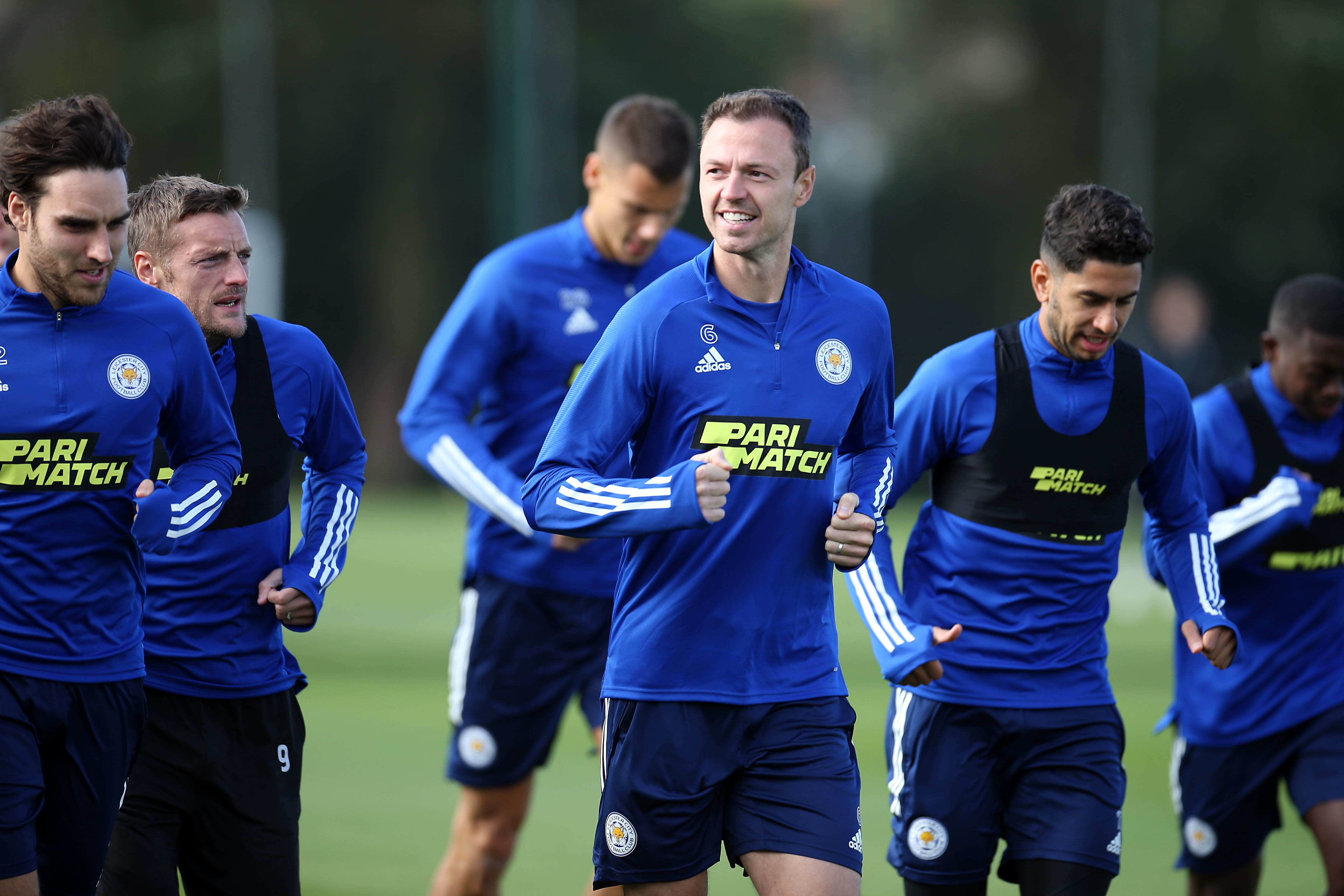 Leicester City Training