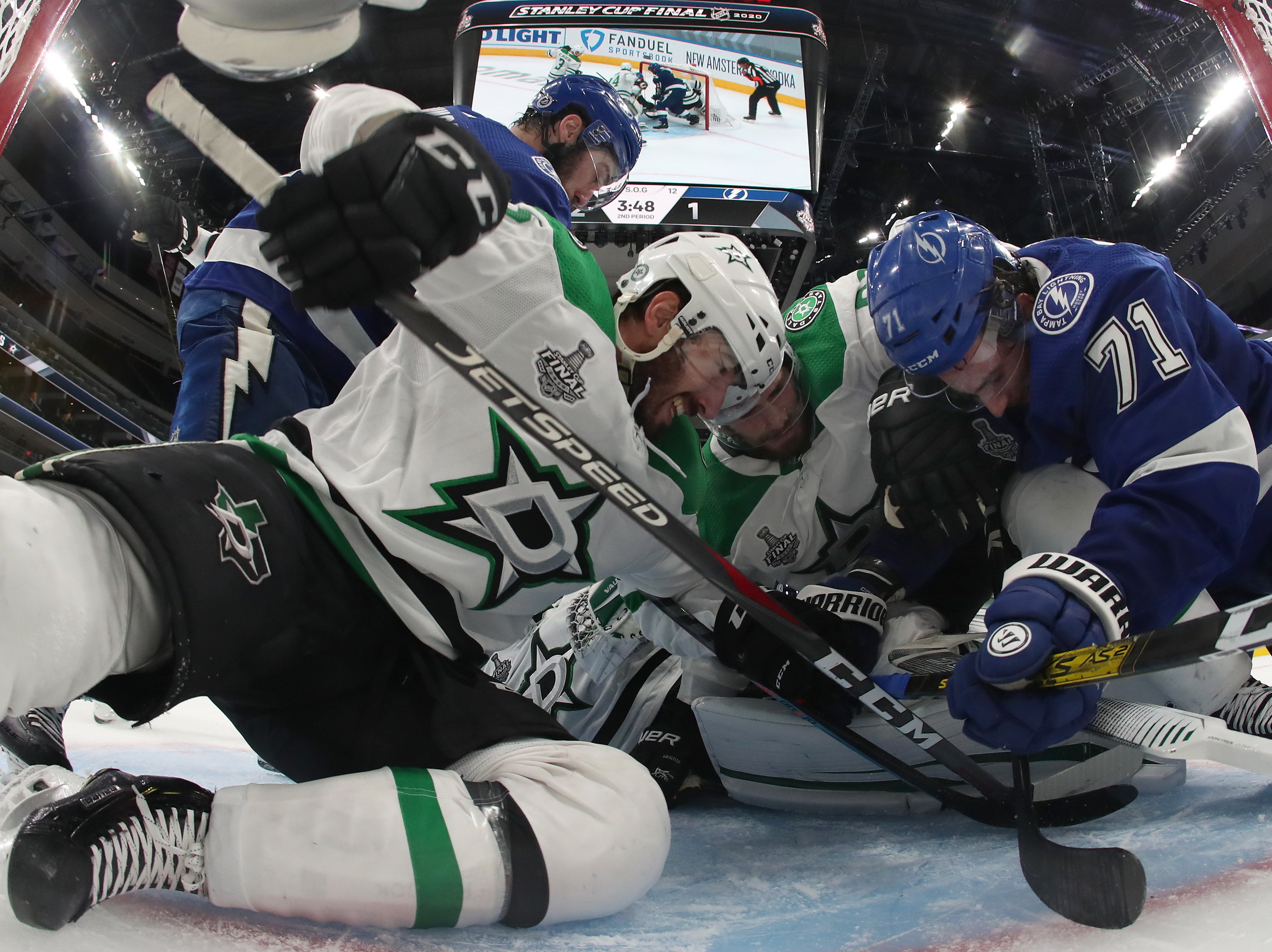 2020 NHL Stanley Cup Final - Game One - Dallas Stars v Tampa Bay Lightning
