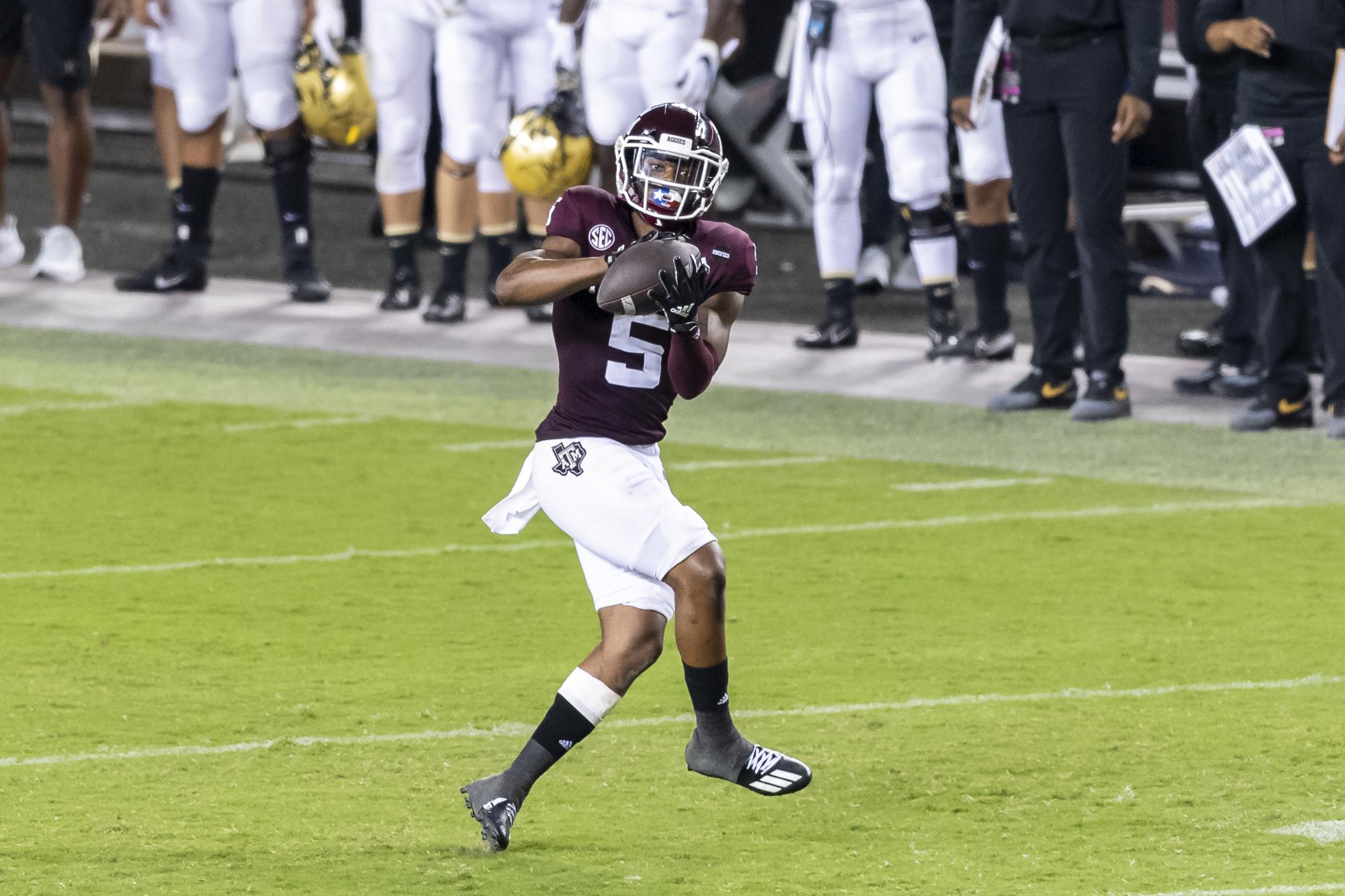 NCAA Football: Vanderbilt at Texas A&M
