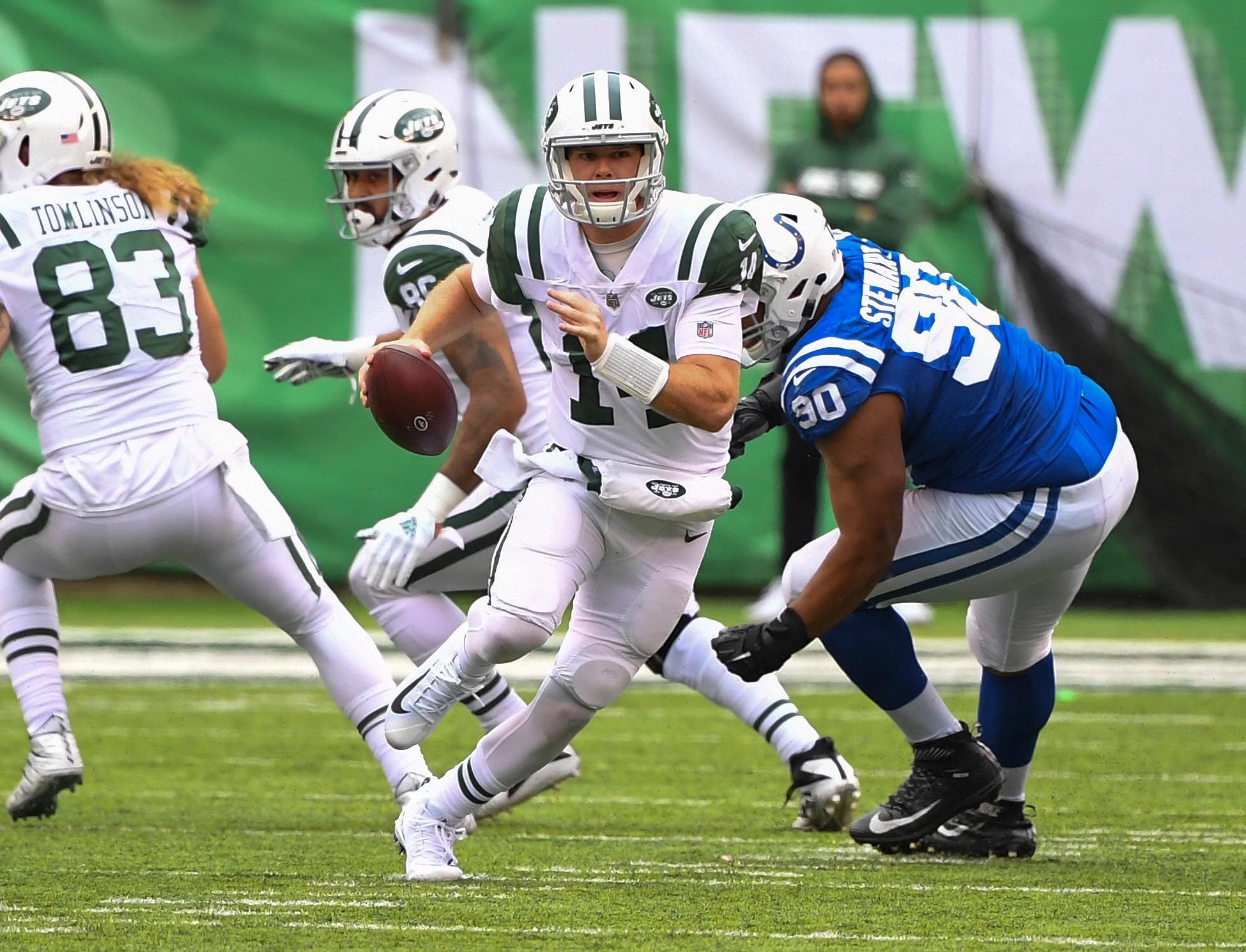 NFL: Indianapolis Colts at New York Jets
