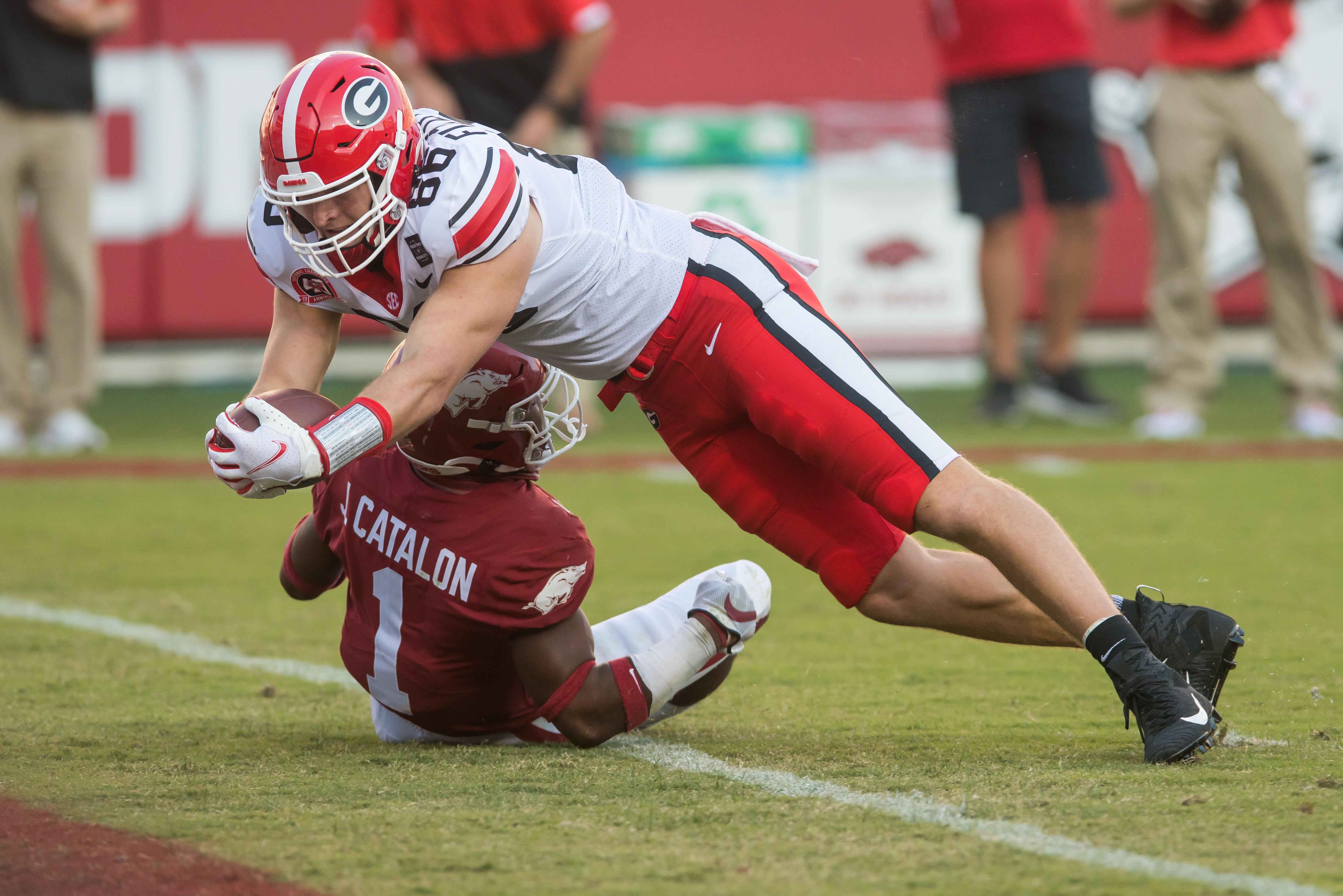 NCAA Football: Georgia at Arkansas