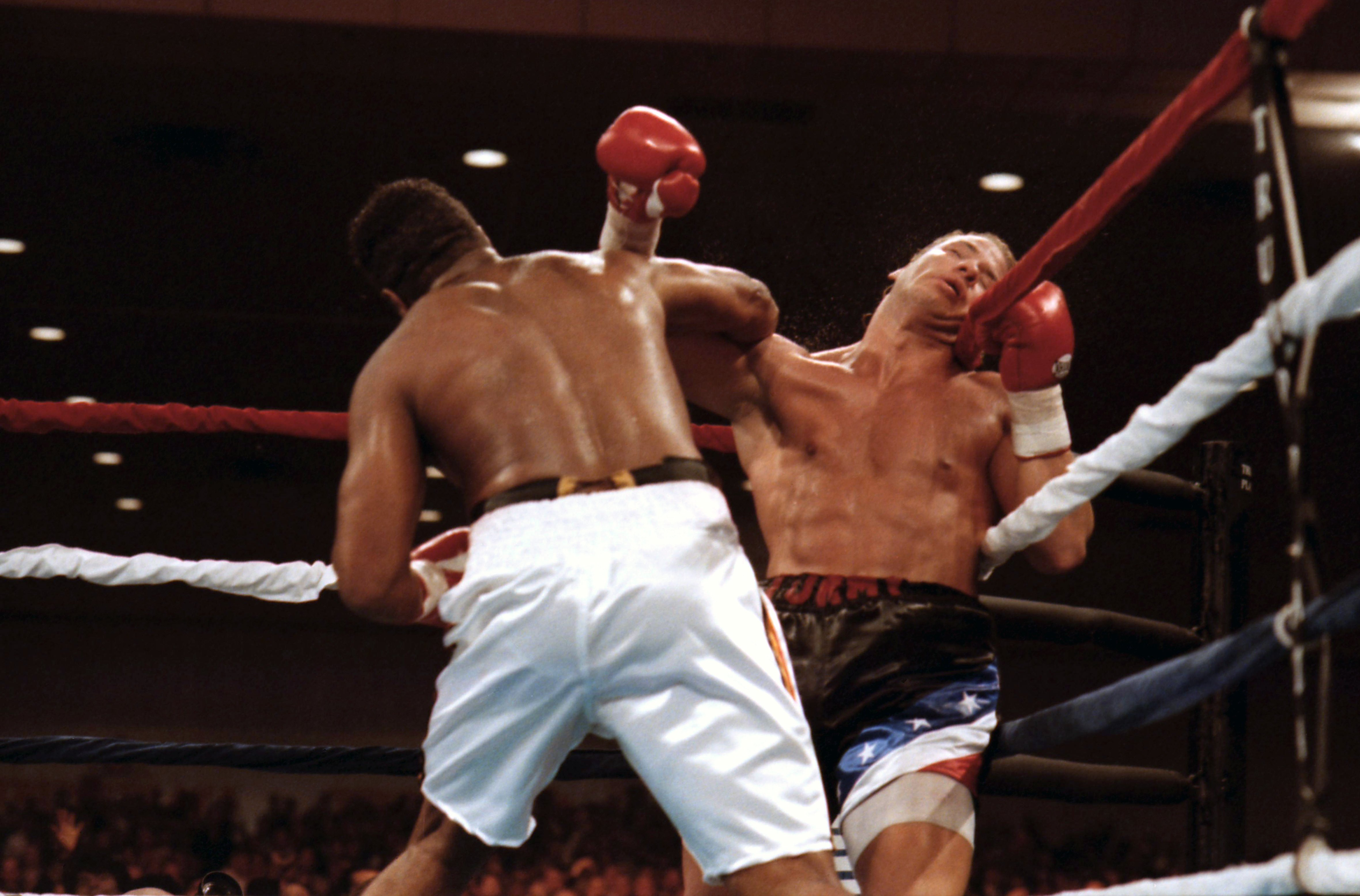 Ray Mercer v Tommy Morrison