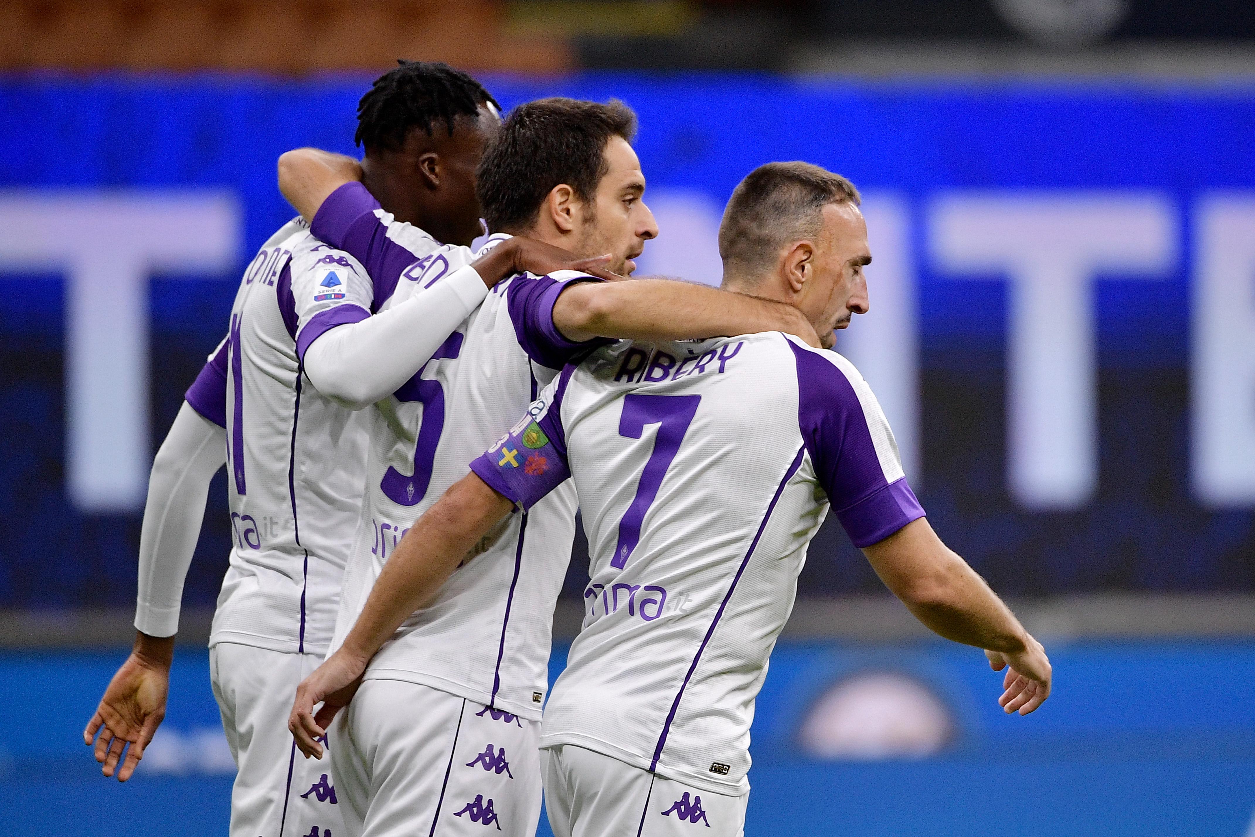 Internazionale v Fiorentina - Italian Serie A