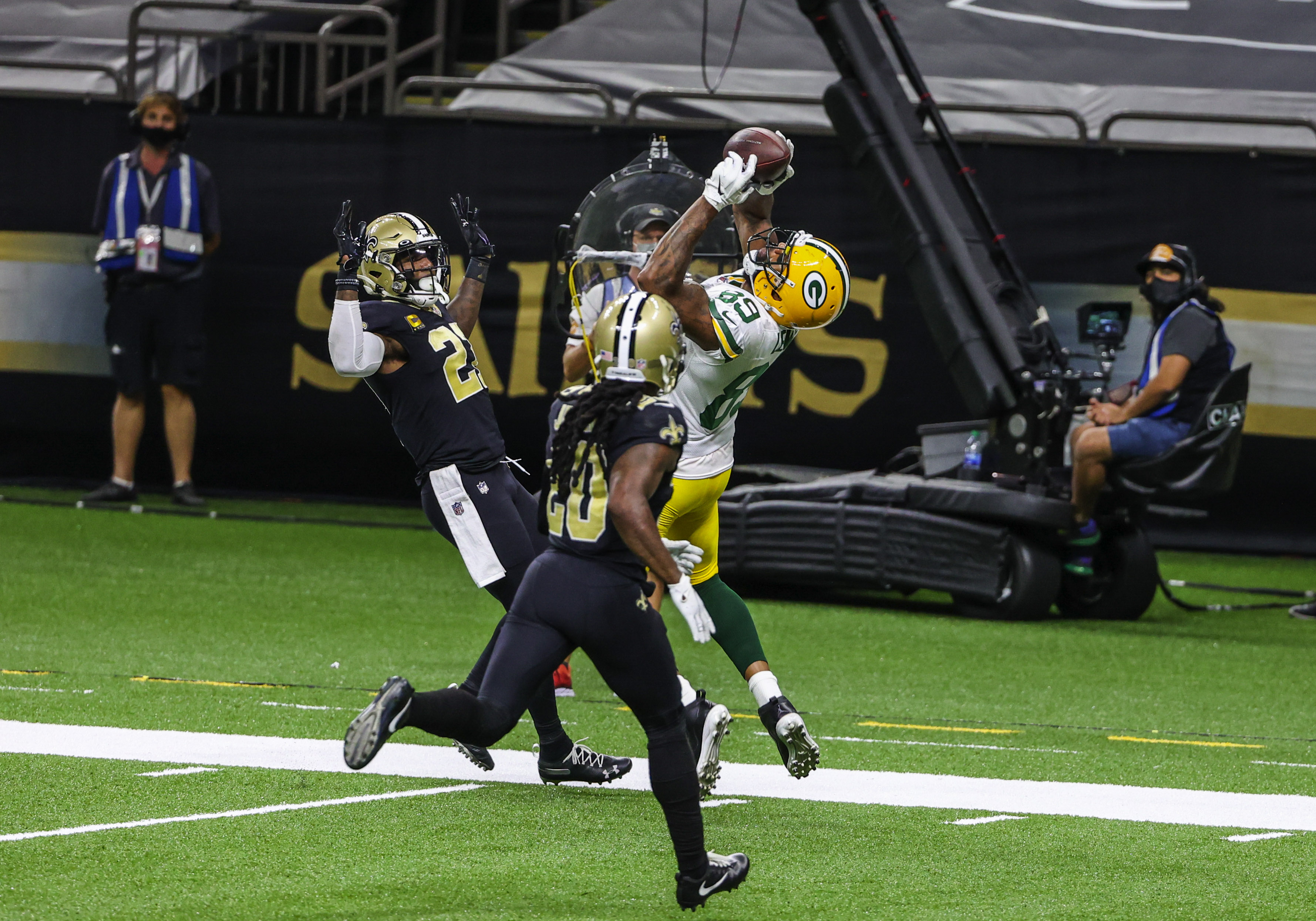 NFL: Green Bay Packers at New Orleans Saints