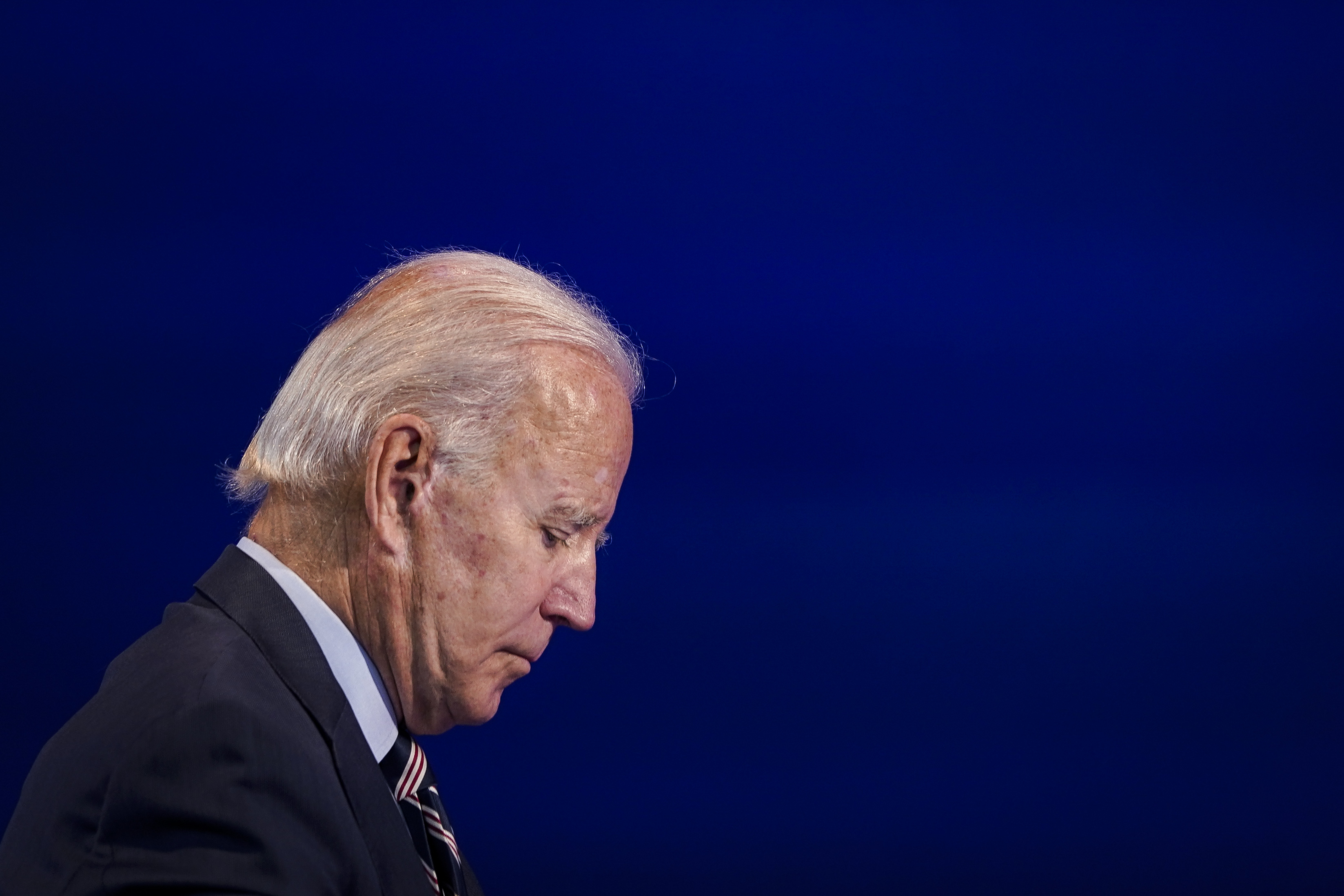 Presidential Candidate Joe Biden Delivers Remarks In Wilmington, Delaware