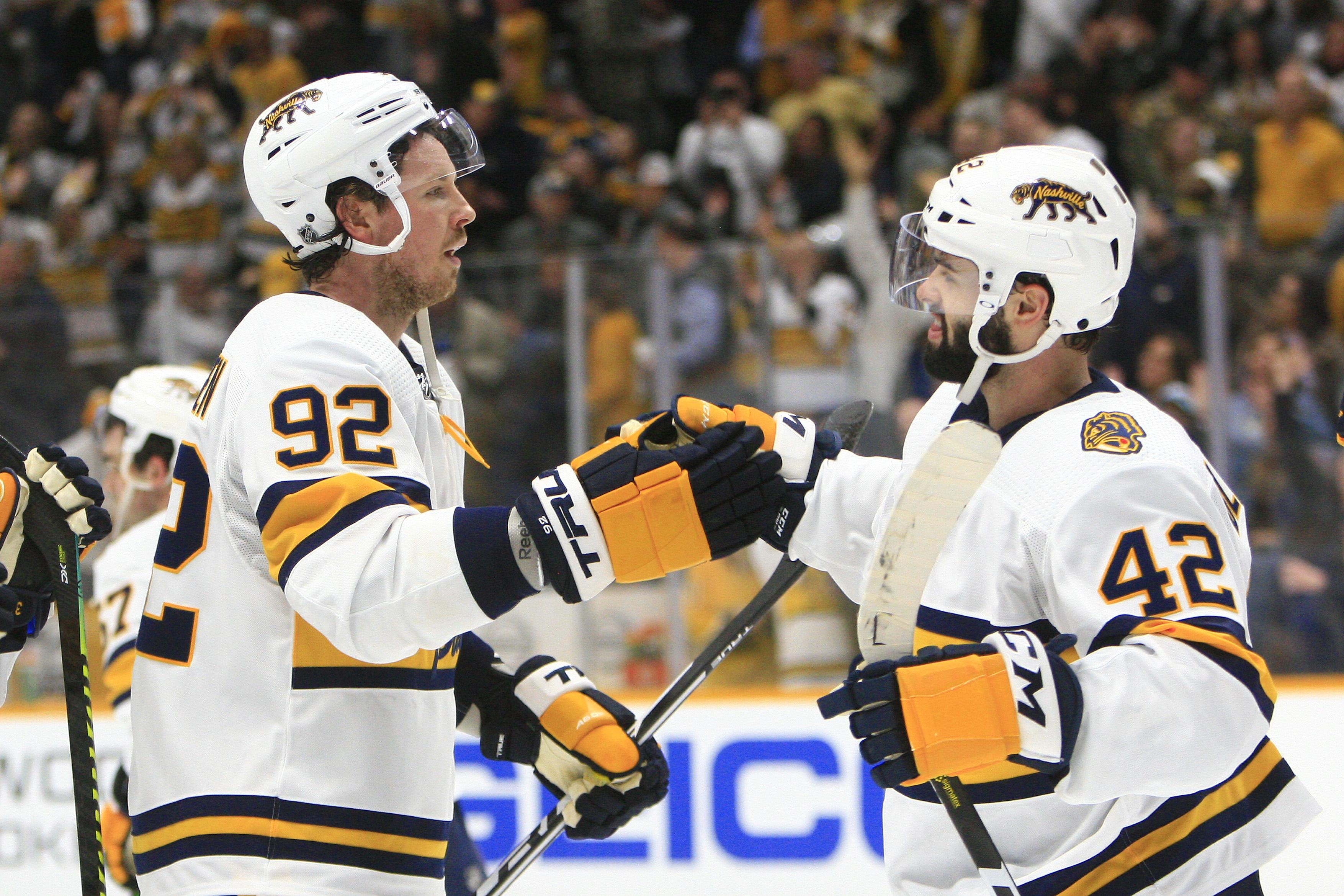 NHL: JAN 18 Sabres at Predators