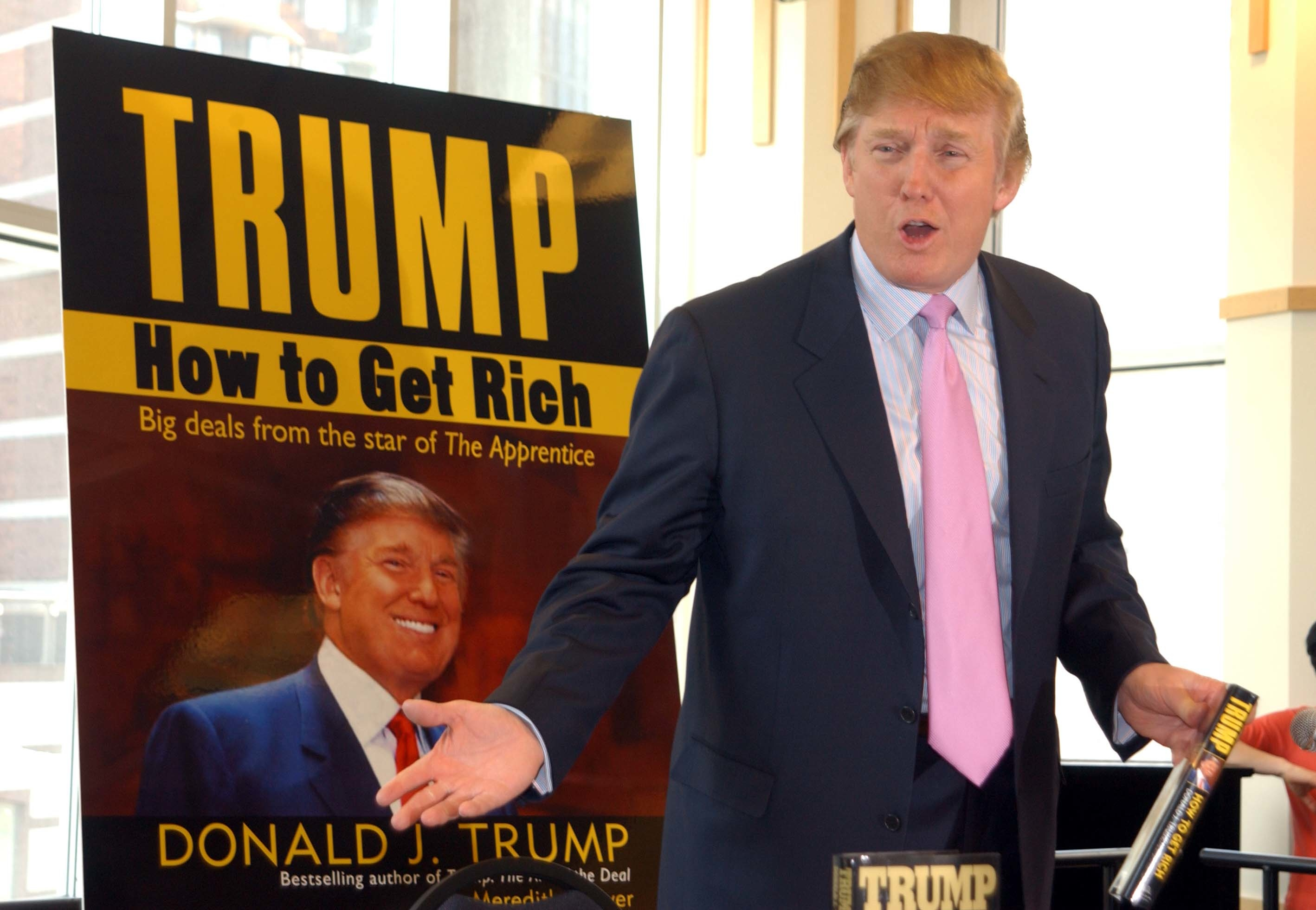Donald Trump Book Signing