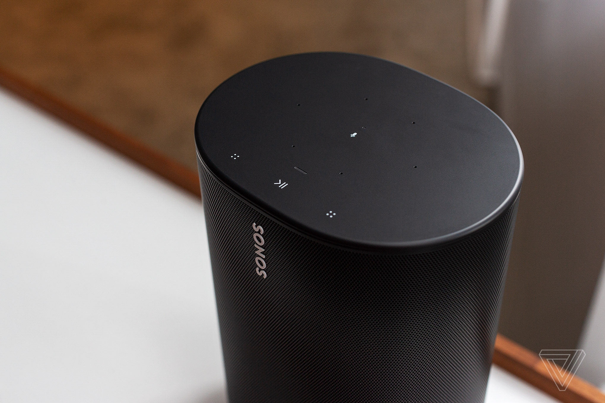 A Sonos Move speaker