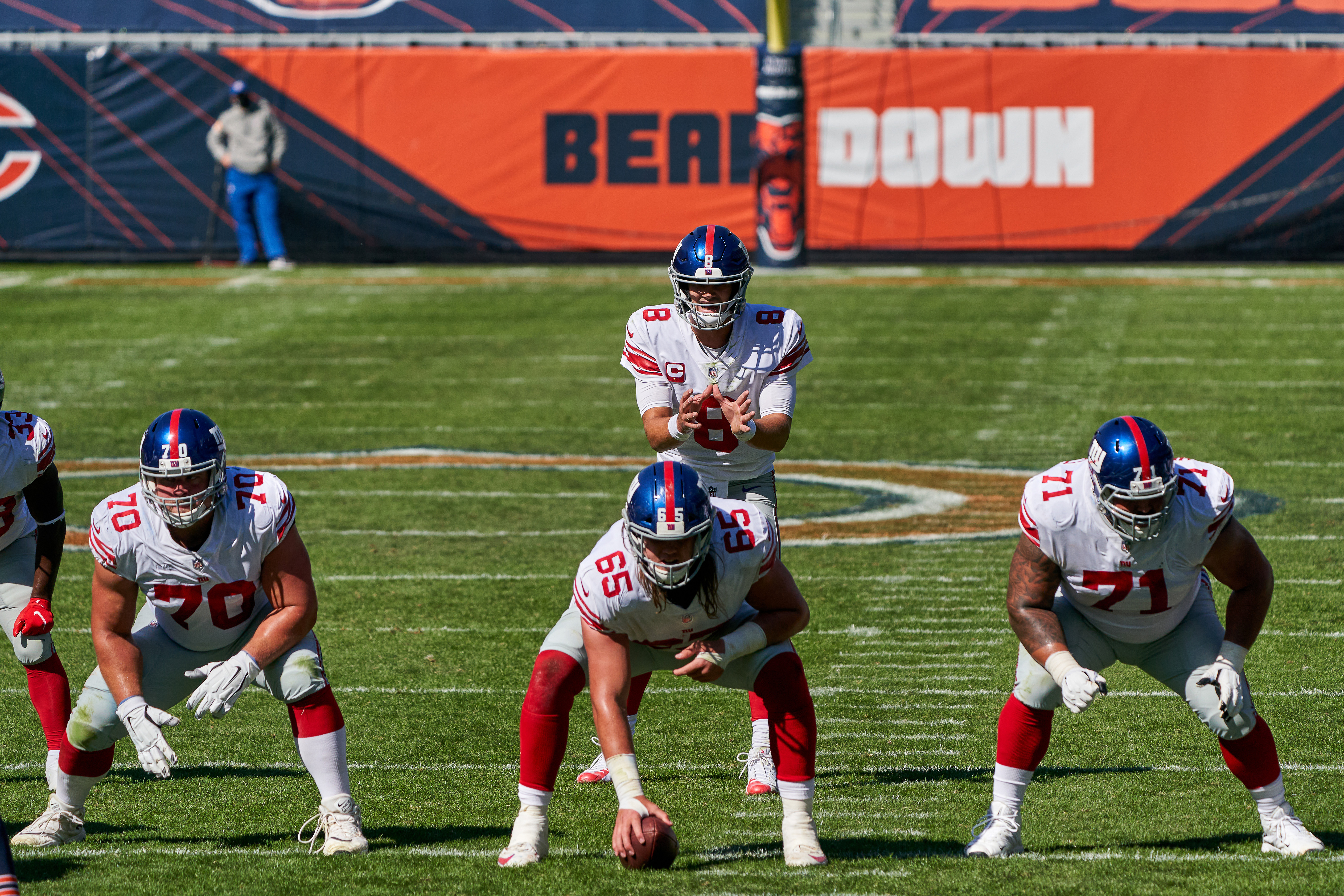 NFL: SEP 20 Giants at Bears
