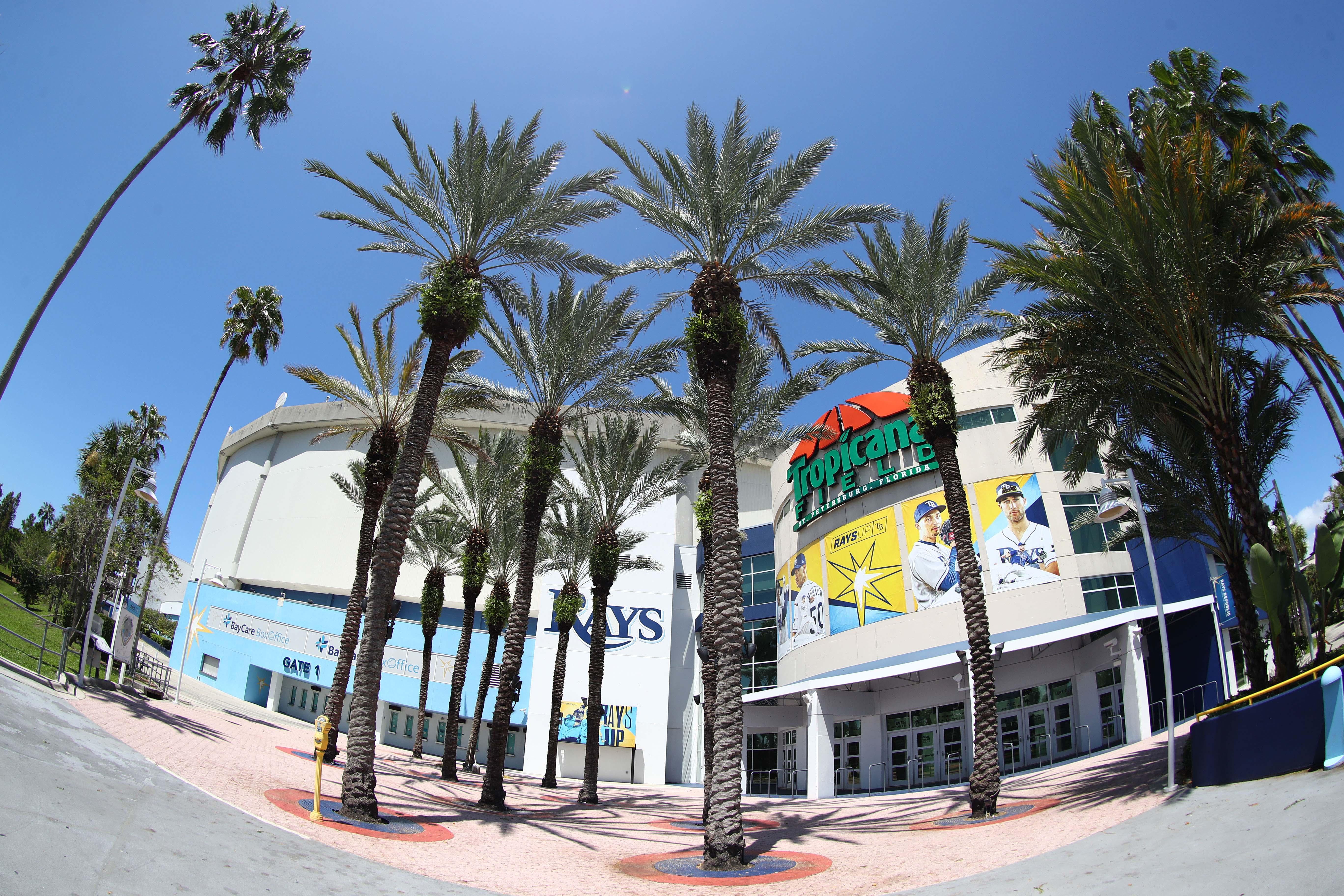 MLB: Tampa Bay Rays-Opening Day Views