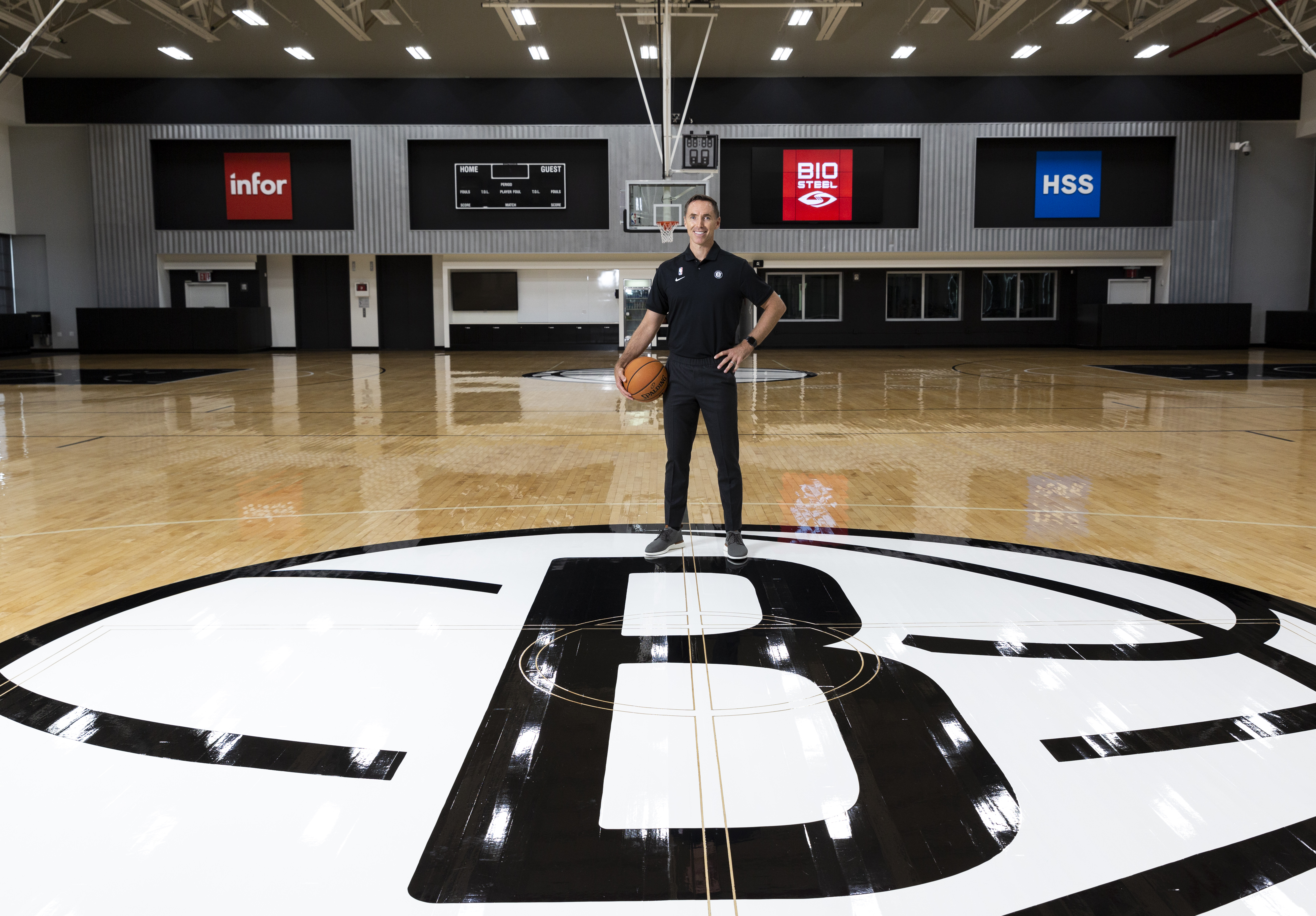 Steve Nash Introduced by the Brooklyn Nets - Portraits