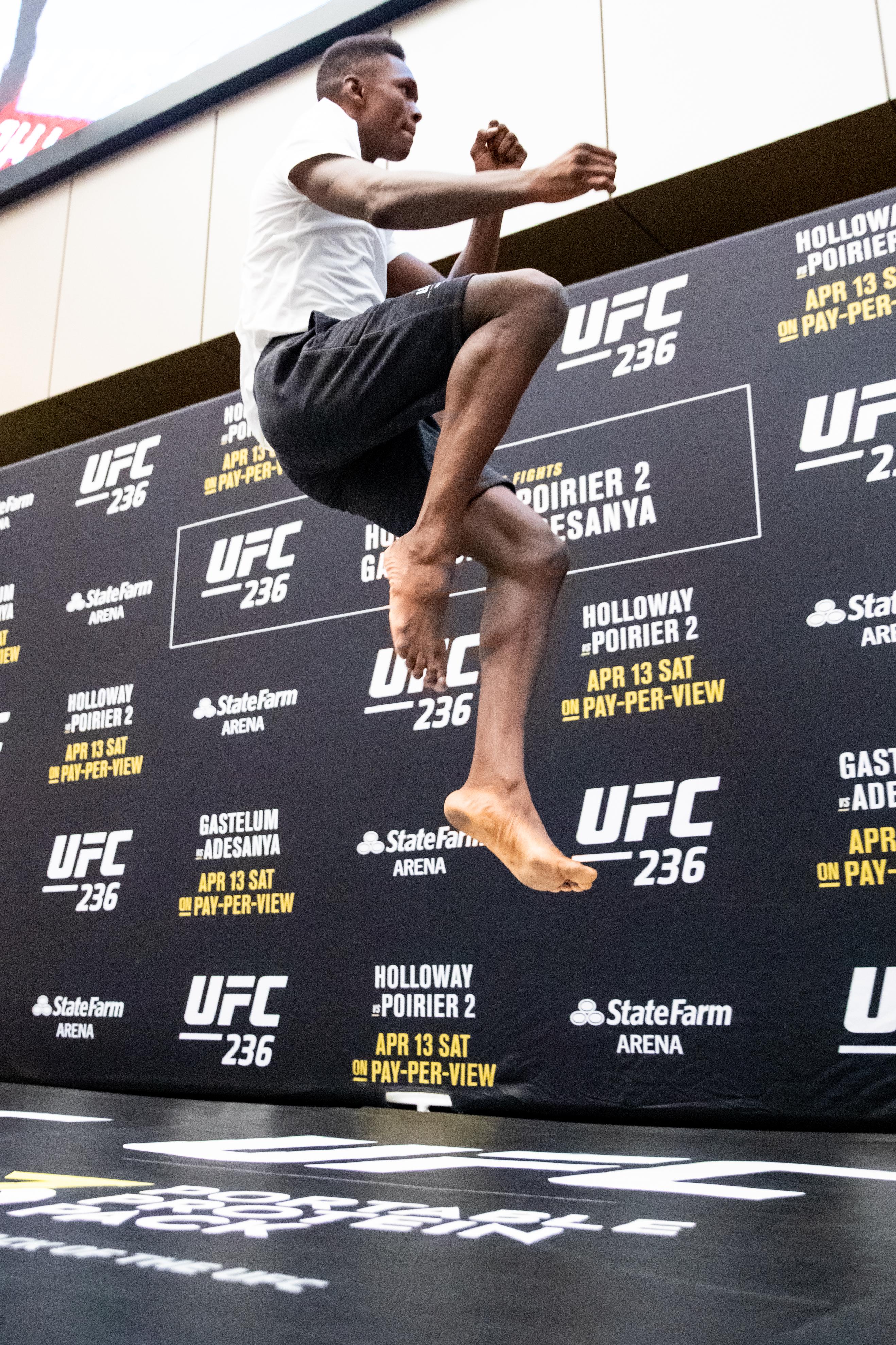UFC 236 Holloway v Poirier 2: Open Workouts