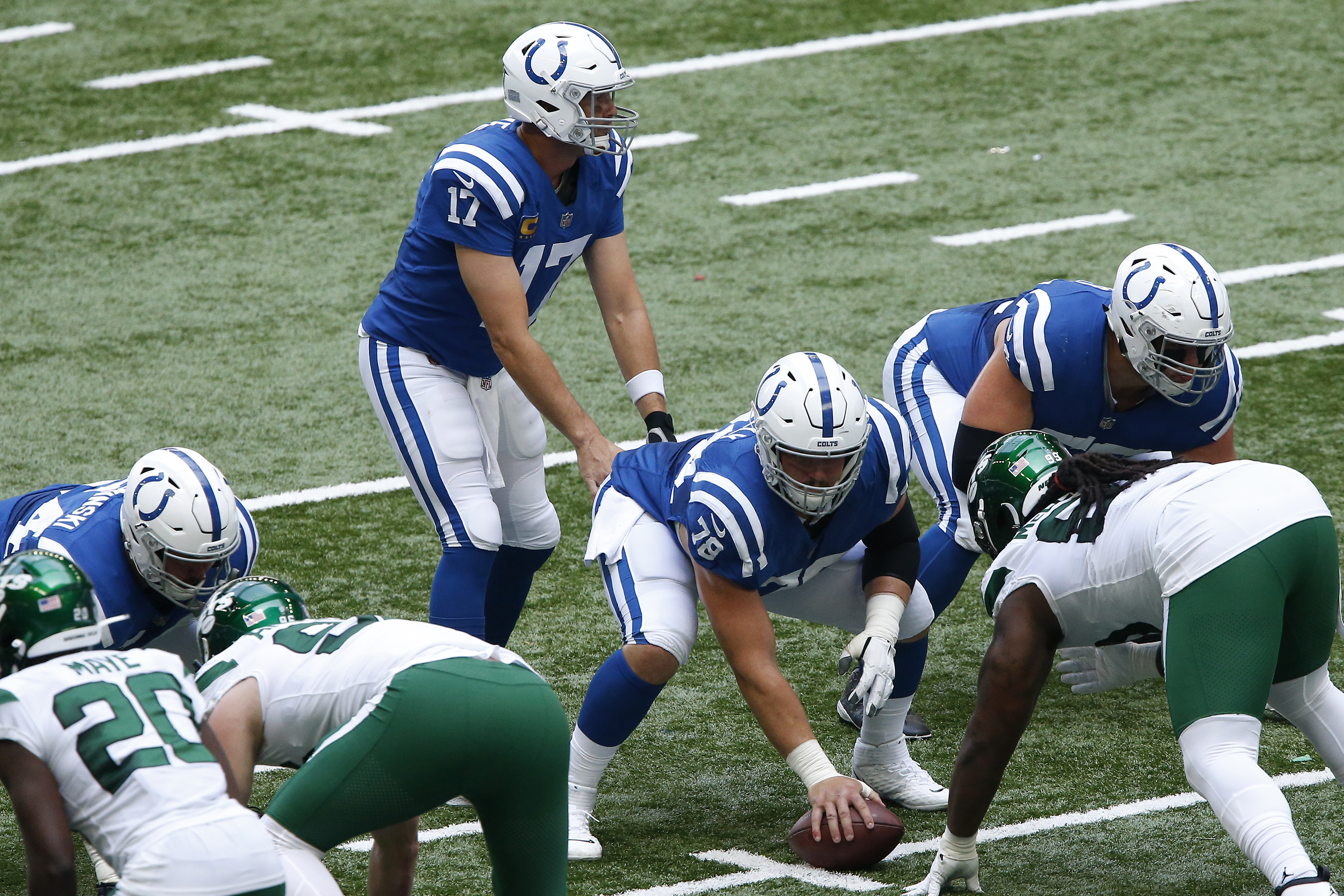 NFL: SEP 27 Jets at Colts