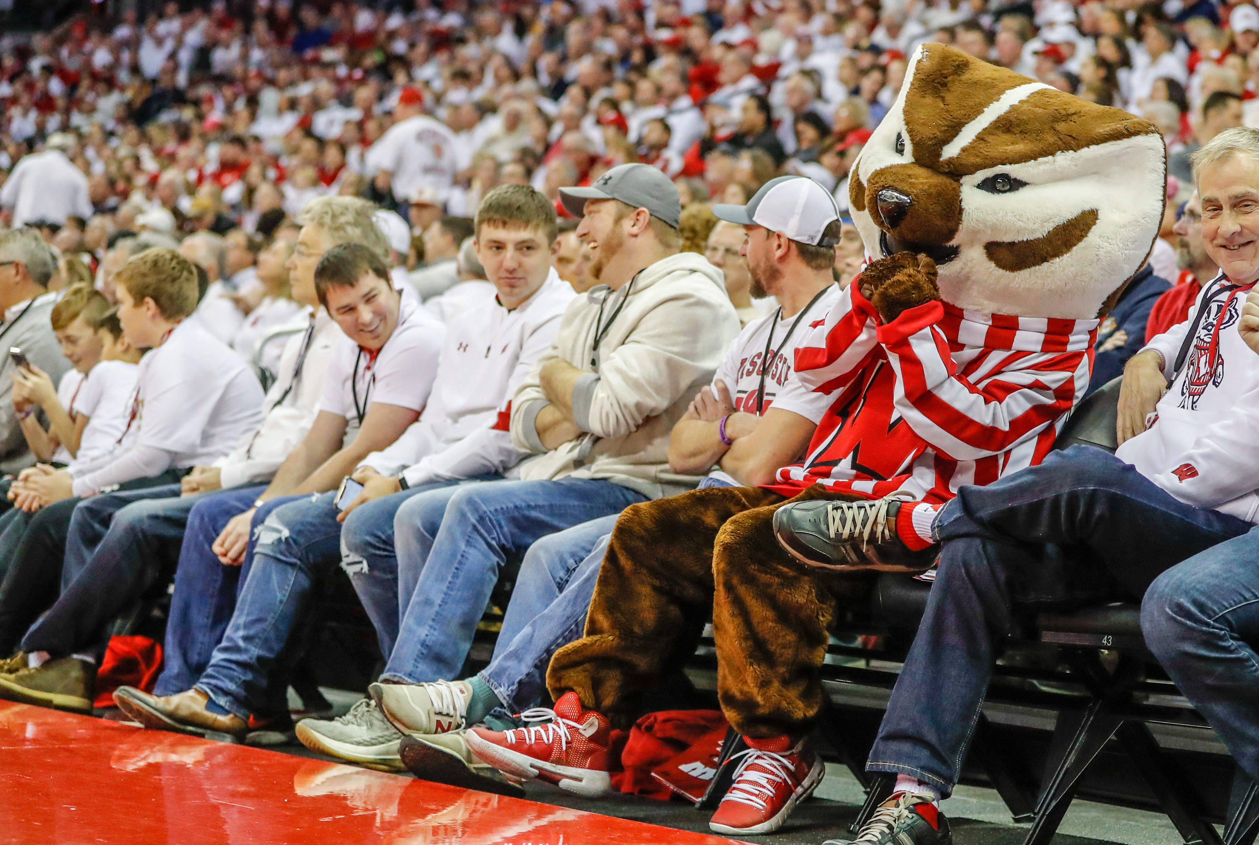COLLEGE BASKETBALL: NOV 17 Marquette University at Wisconsin