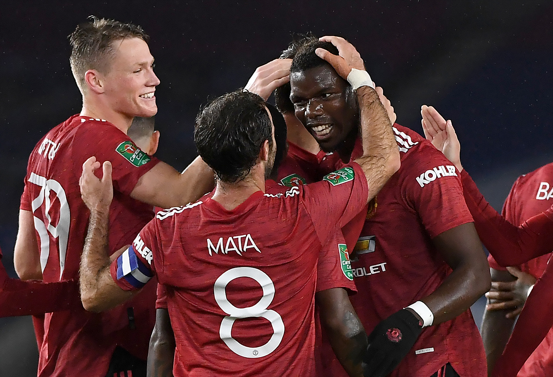Brighton and Hove Albion v Manchester United- Carabao Cup - Fourth Round - AMEX Stadium