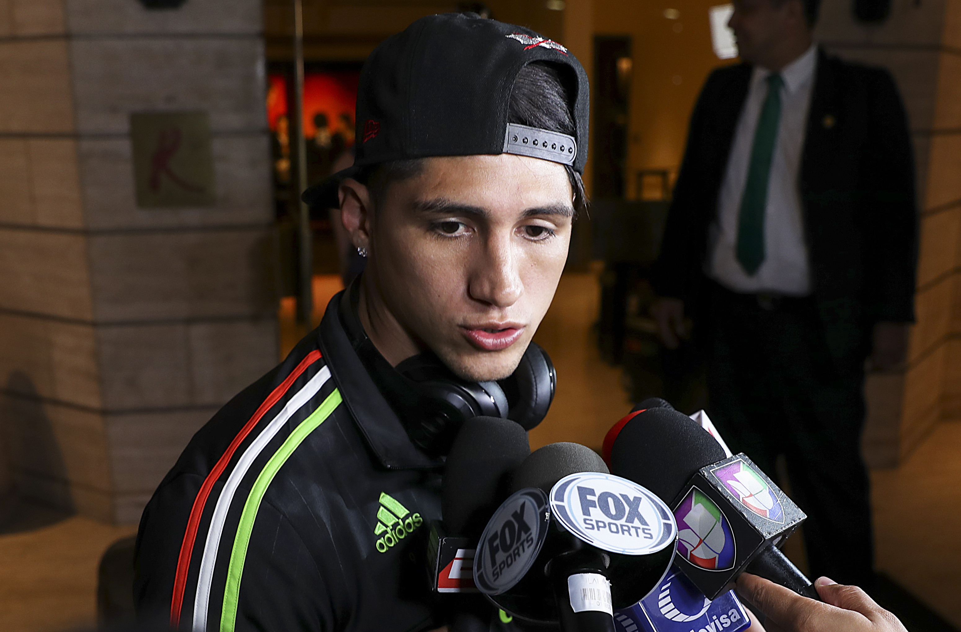 Mexico National Team Arrives to Houston