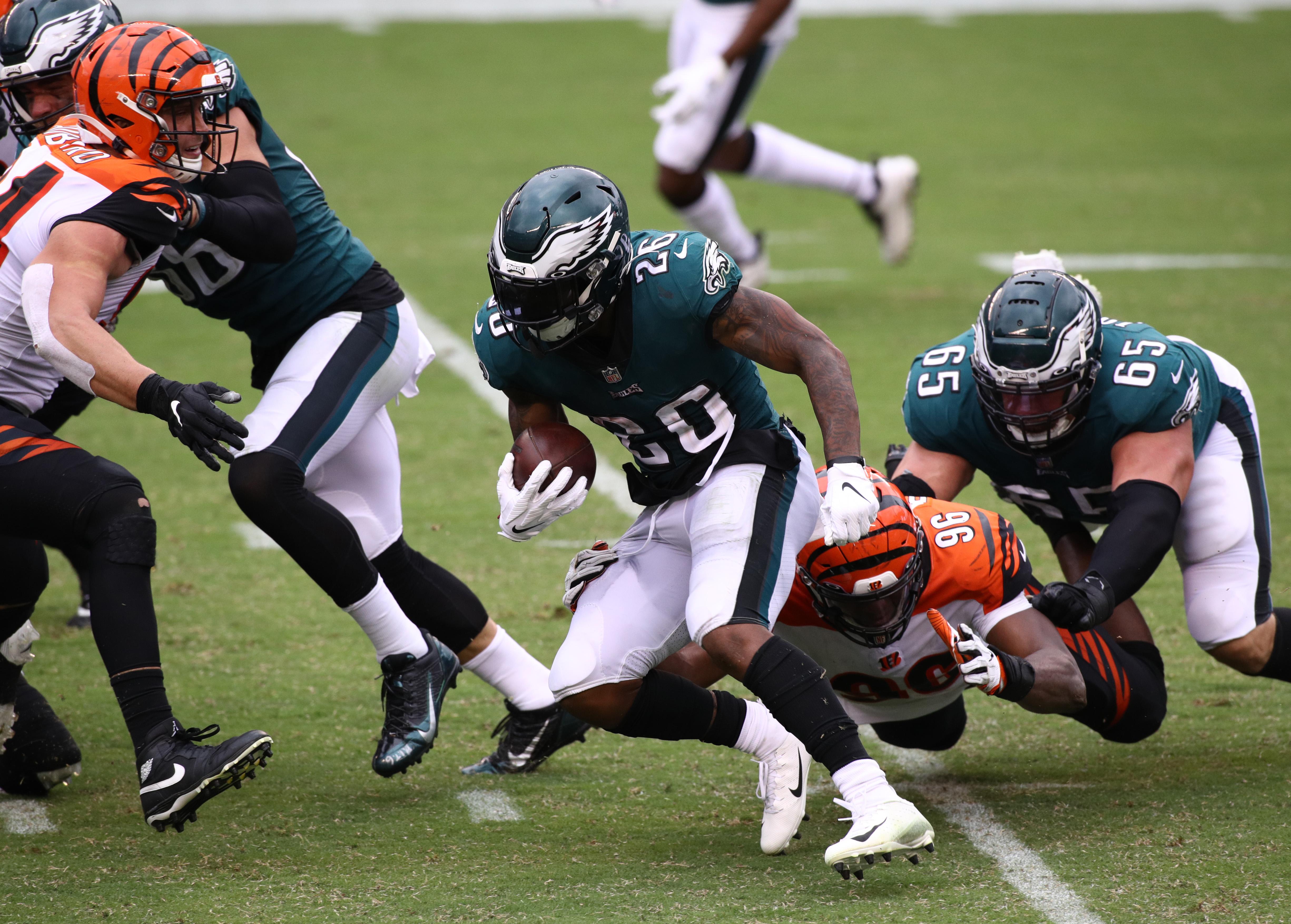 NFL: SEP 27 Bengals at Eagles