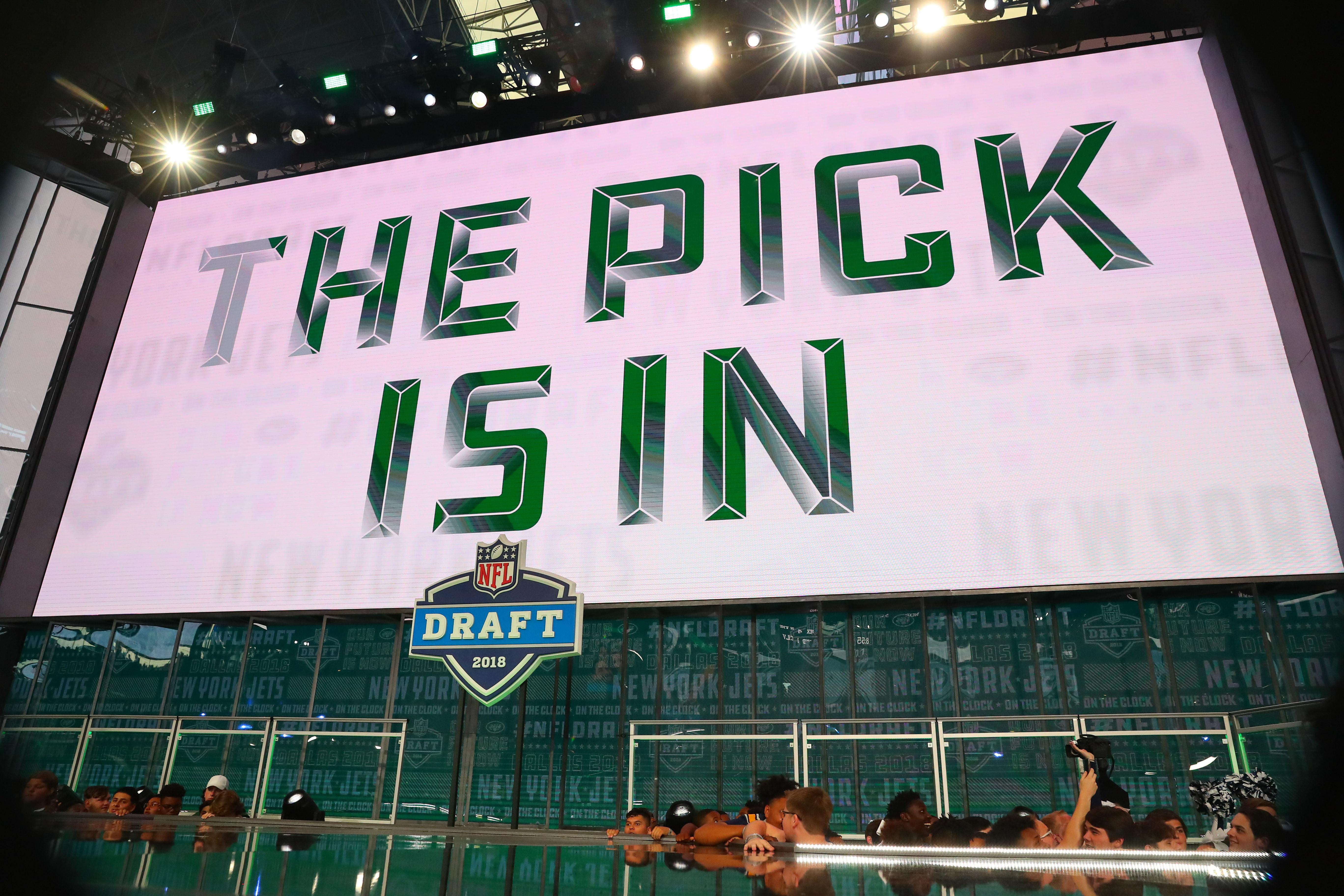 NFL: APR 26 2018 NFL Draft