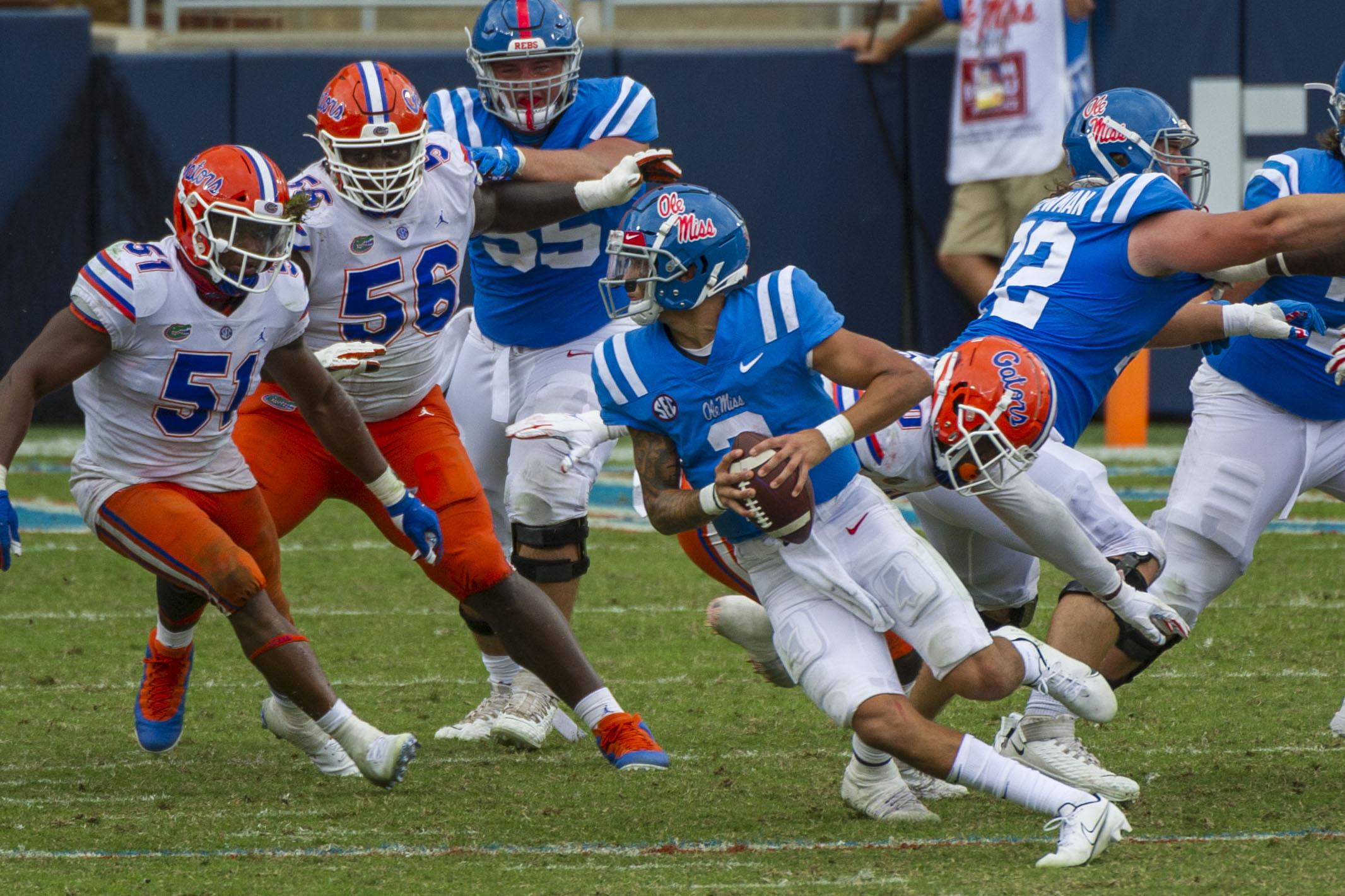 NCAA Football: Florida at Mississippi