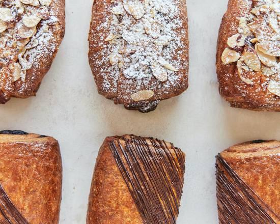 For a gluten-free croissant that tastes like Middle Eastern Jachnun: Breadblok.