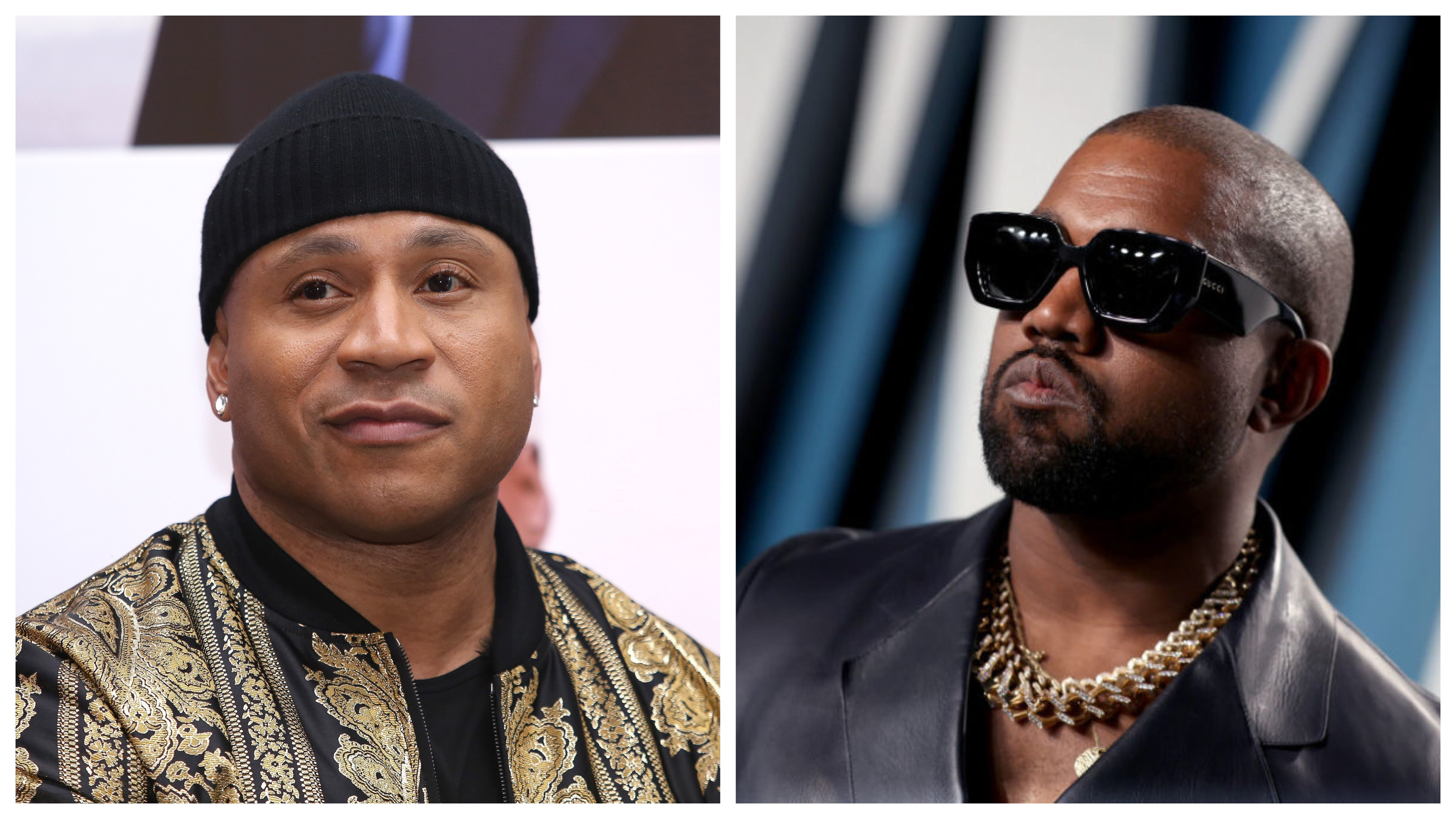 LL Cool J and Kanye West