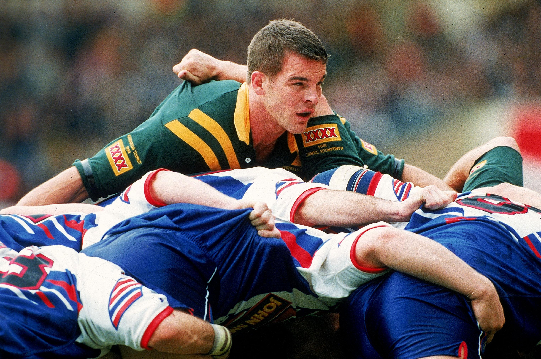 Rugby League Test match - Eng v Aus