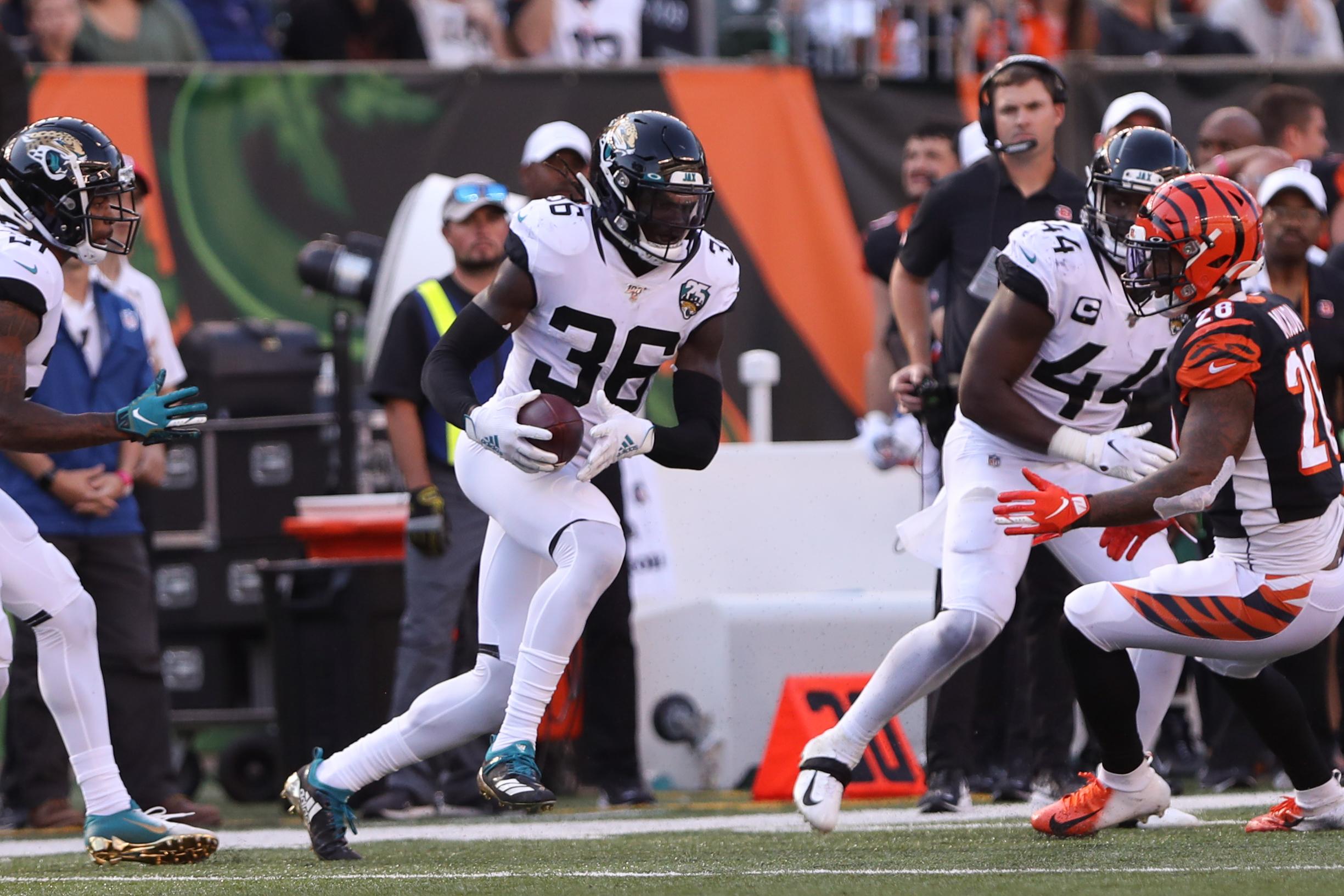 NFL: OCT 20 Jaguars at Bengals
