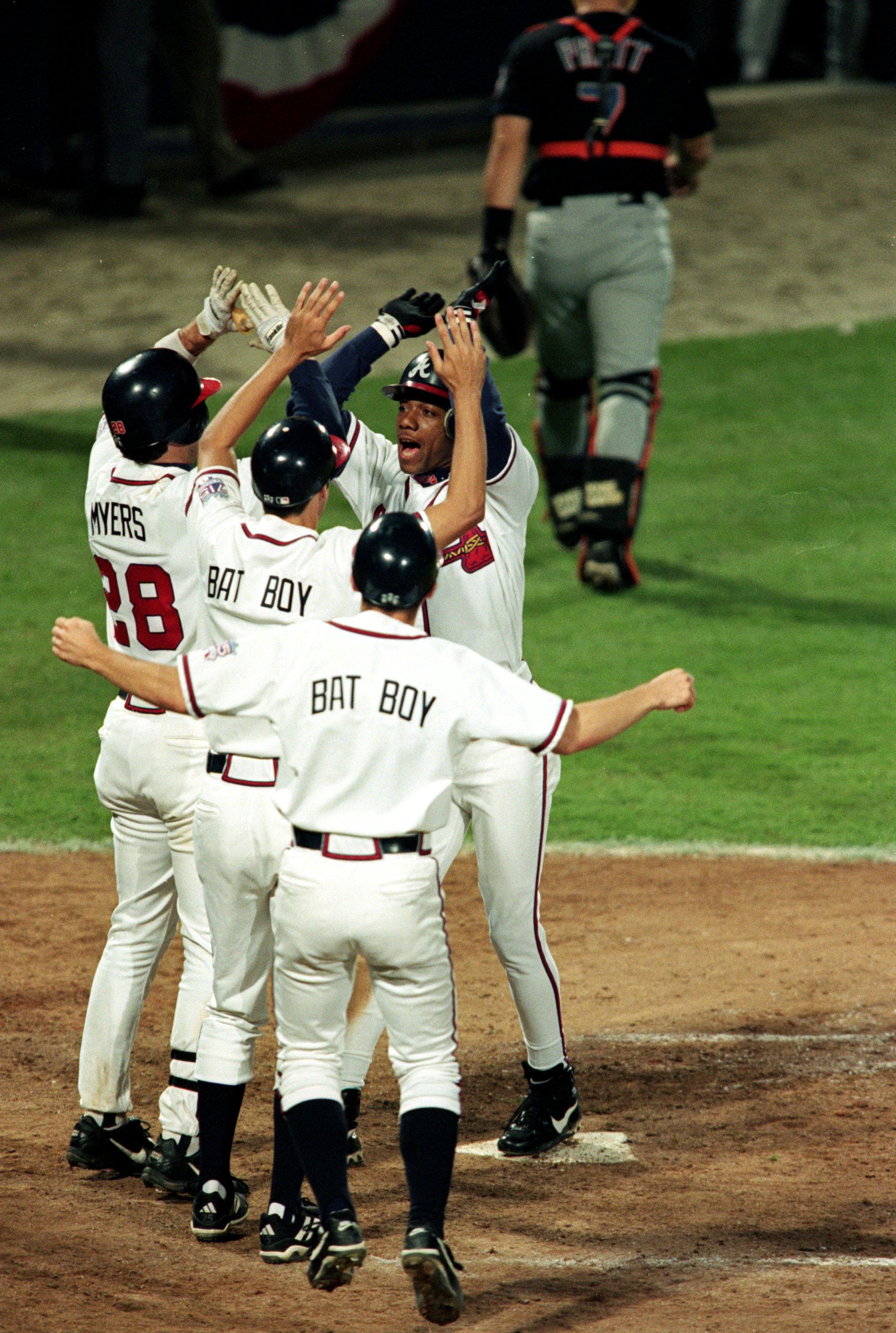 Braves celebrate