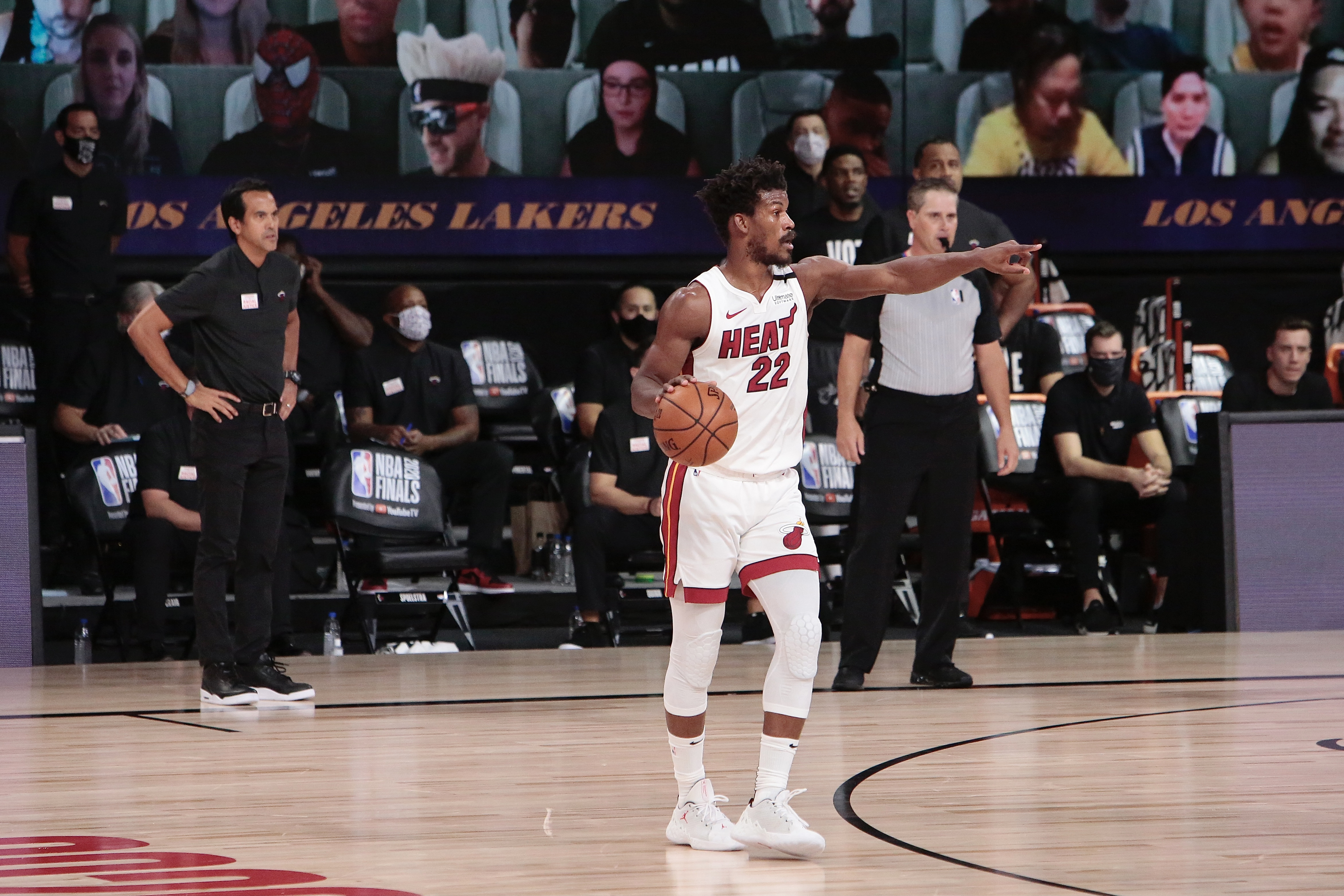 Miami Heat v Los Angeles Lakers - Game Two