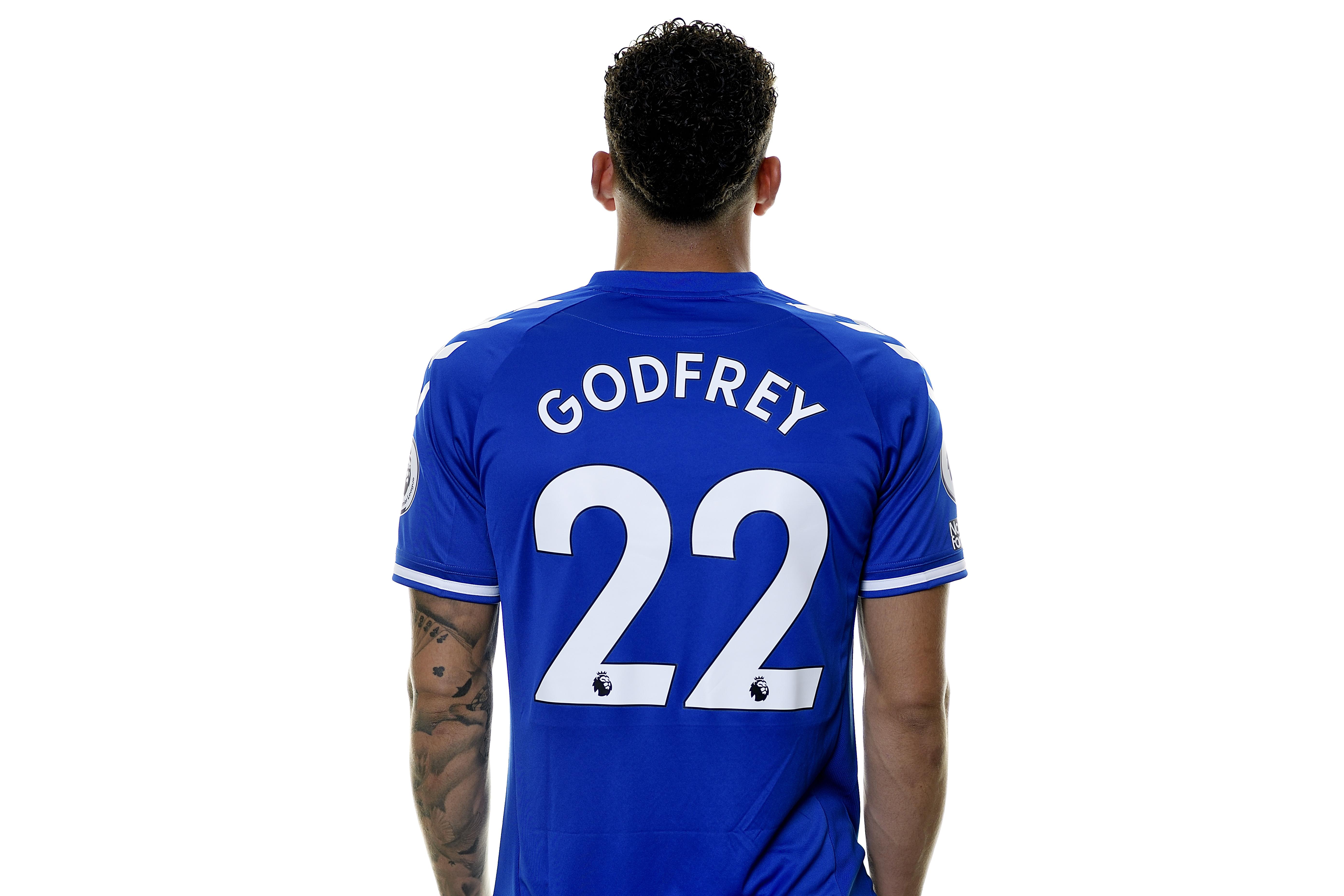 Everton Unveil New Signing Ben Godfrey