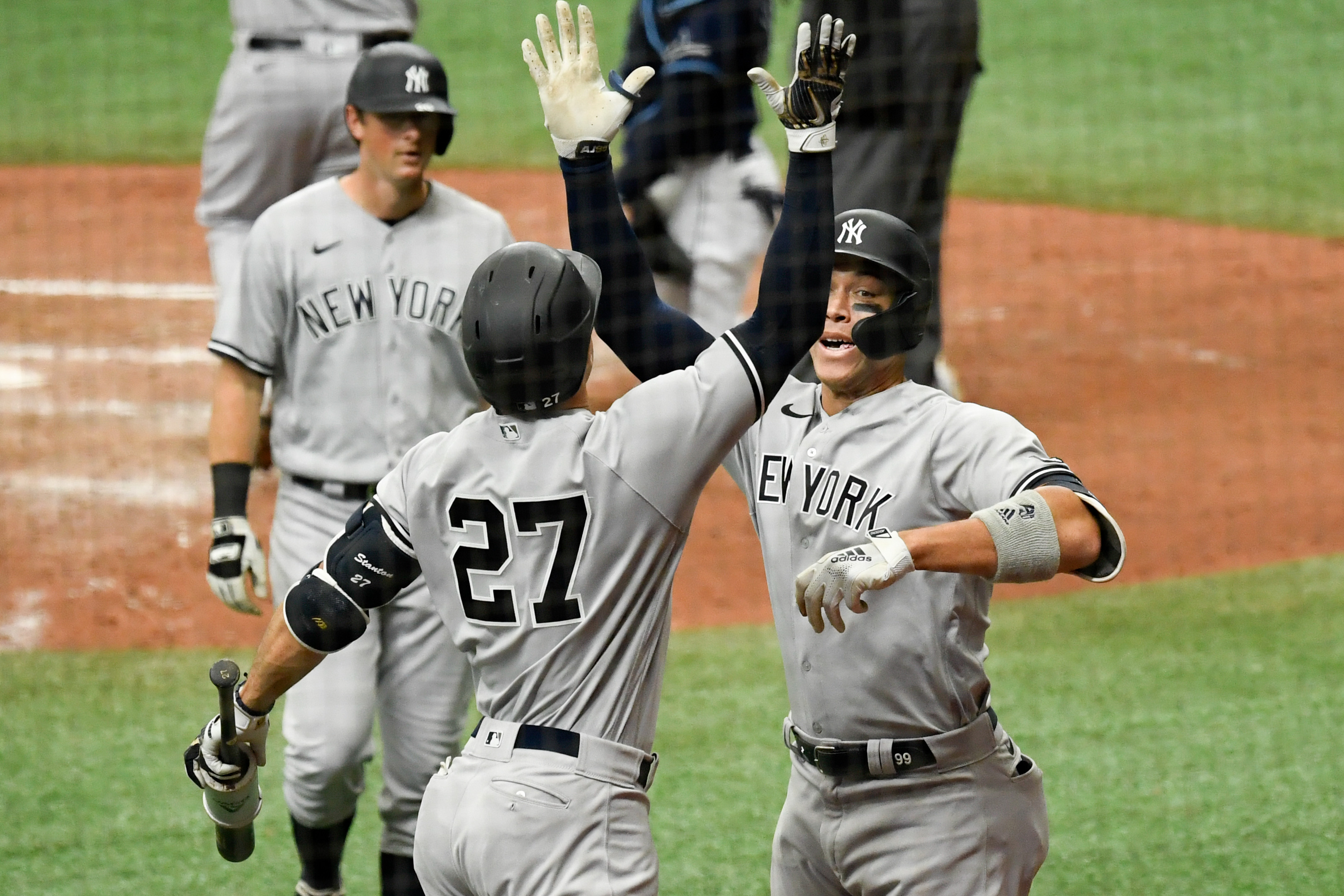 MLB: Game One-New York Yankees at Tampa Bay Rays