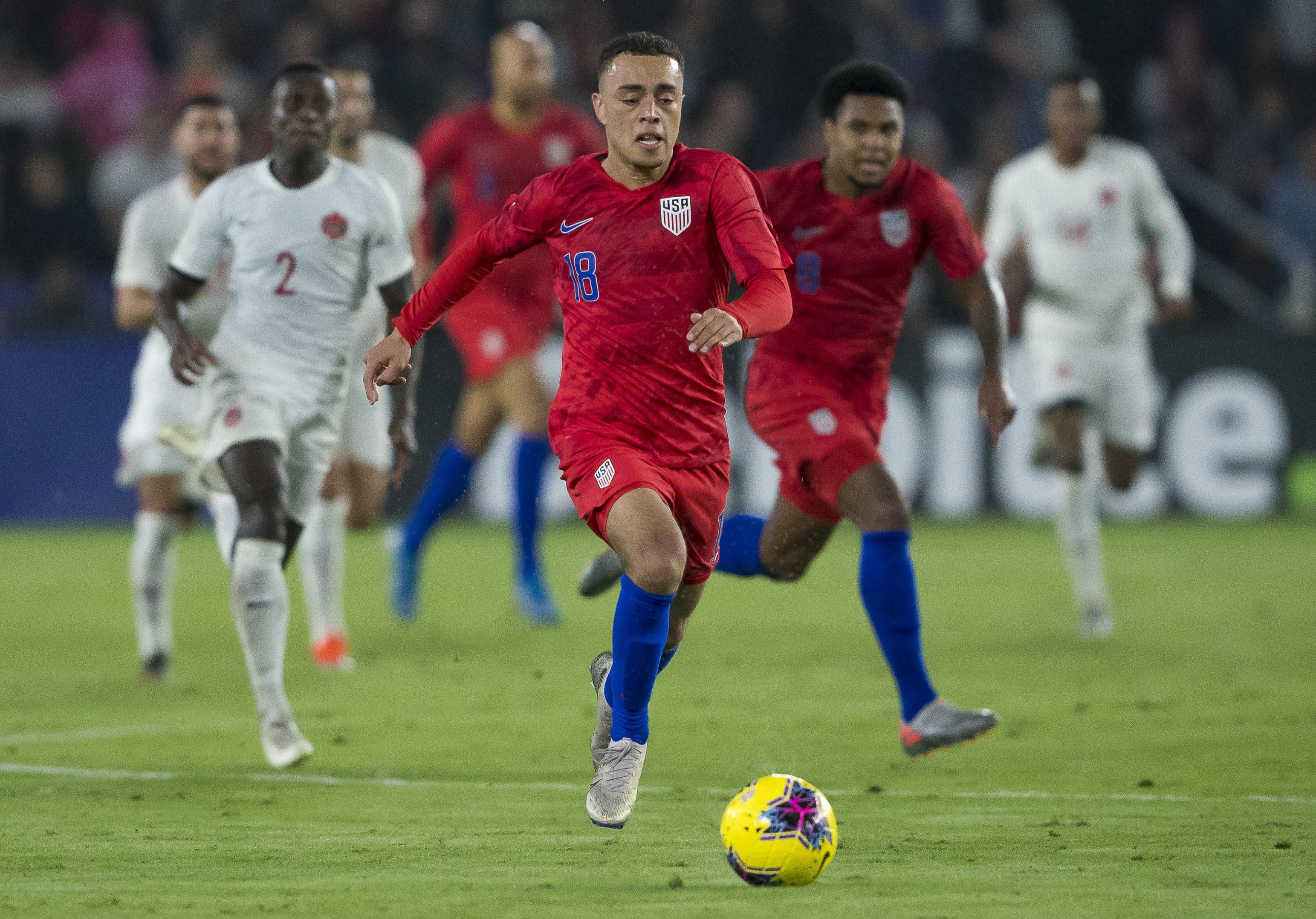 SOCCER: NOV 15 CONCACAF Nations League - USA v Canada