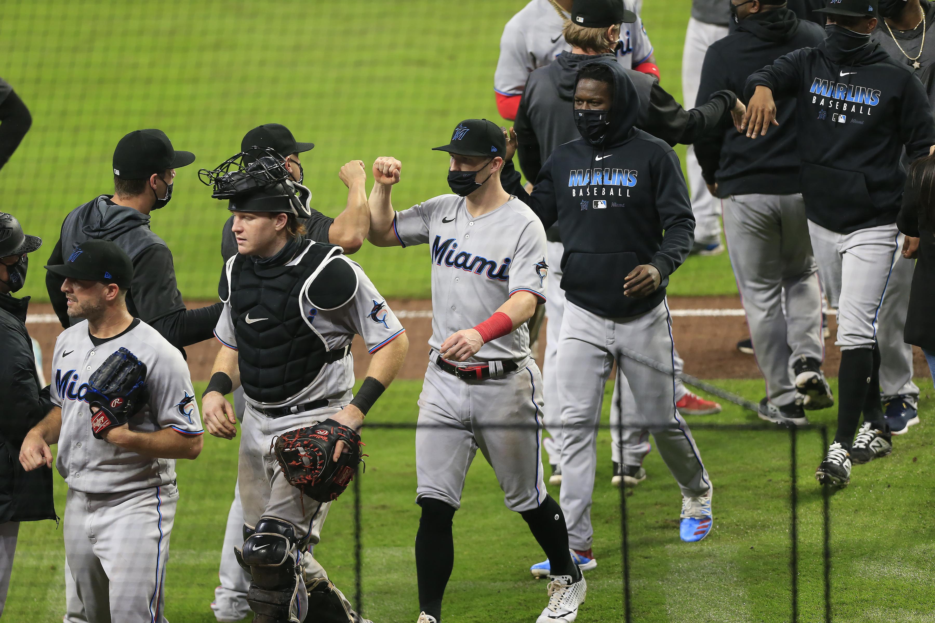 MLB: SEP 24 Marlins at Braves