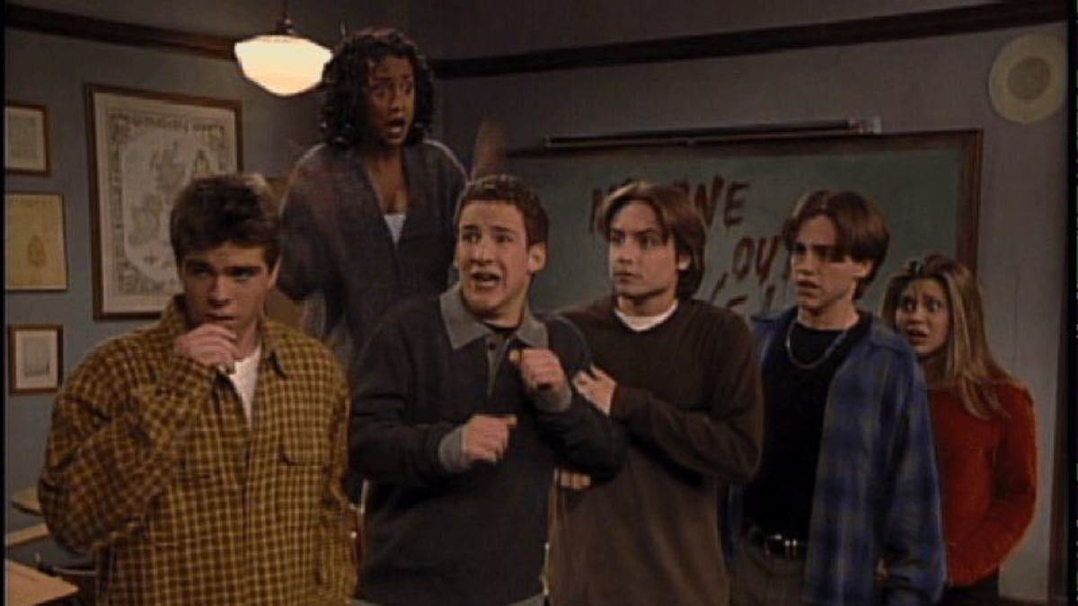 The Boy Meets World cast is scared