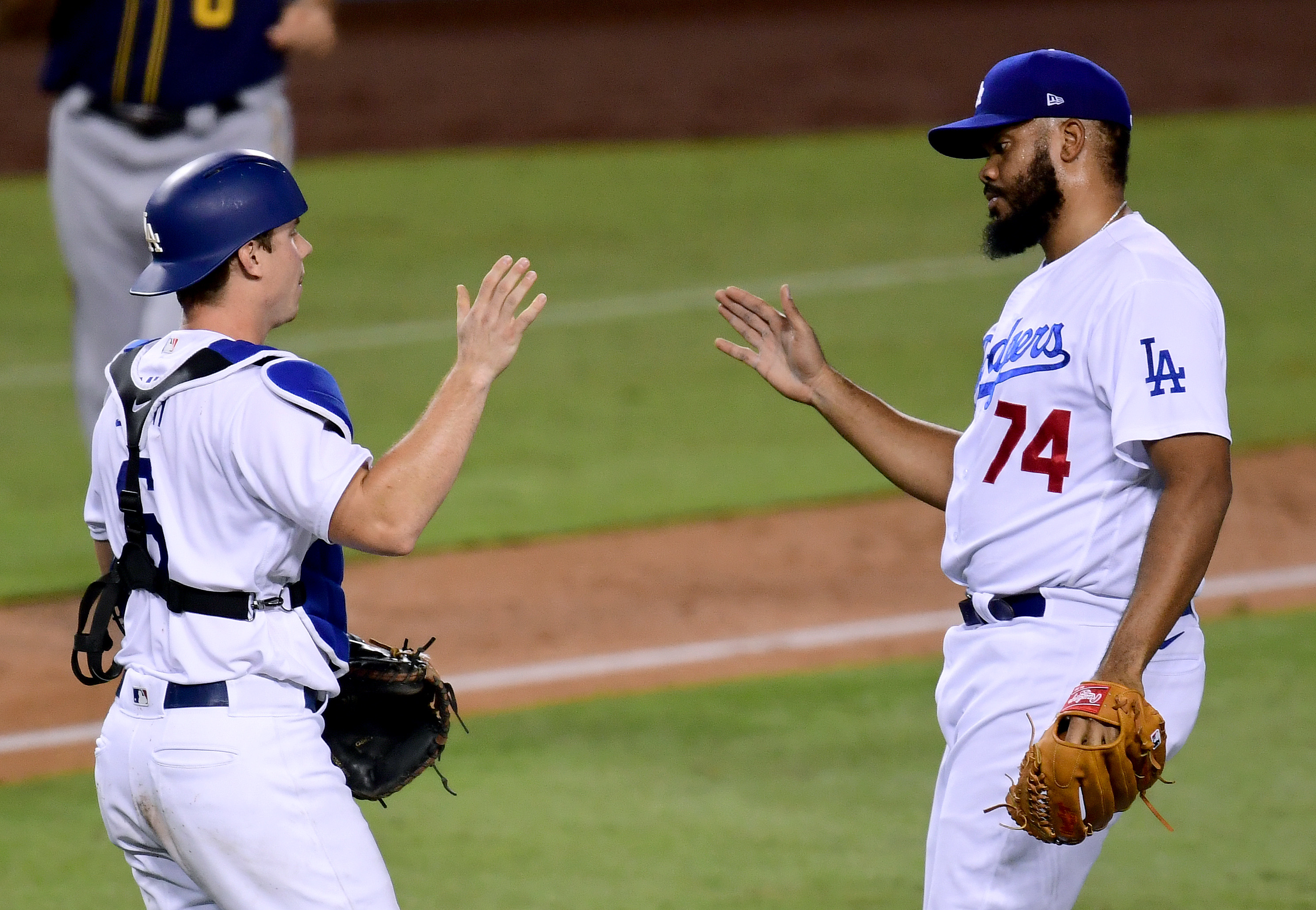 Wild Card Round - Milwaukee Brewers v Los Angeles Dodgers - Game One