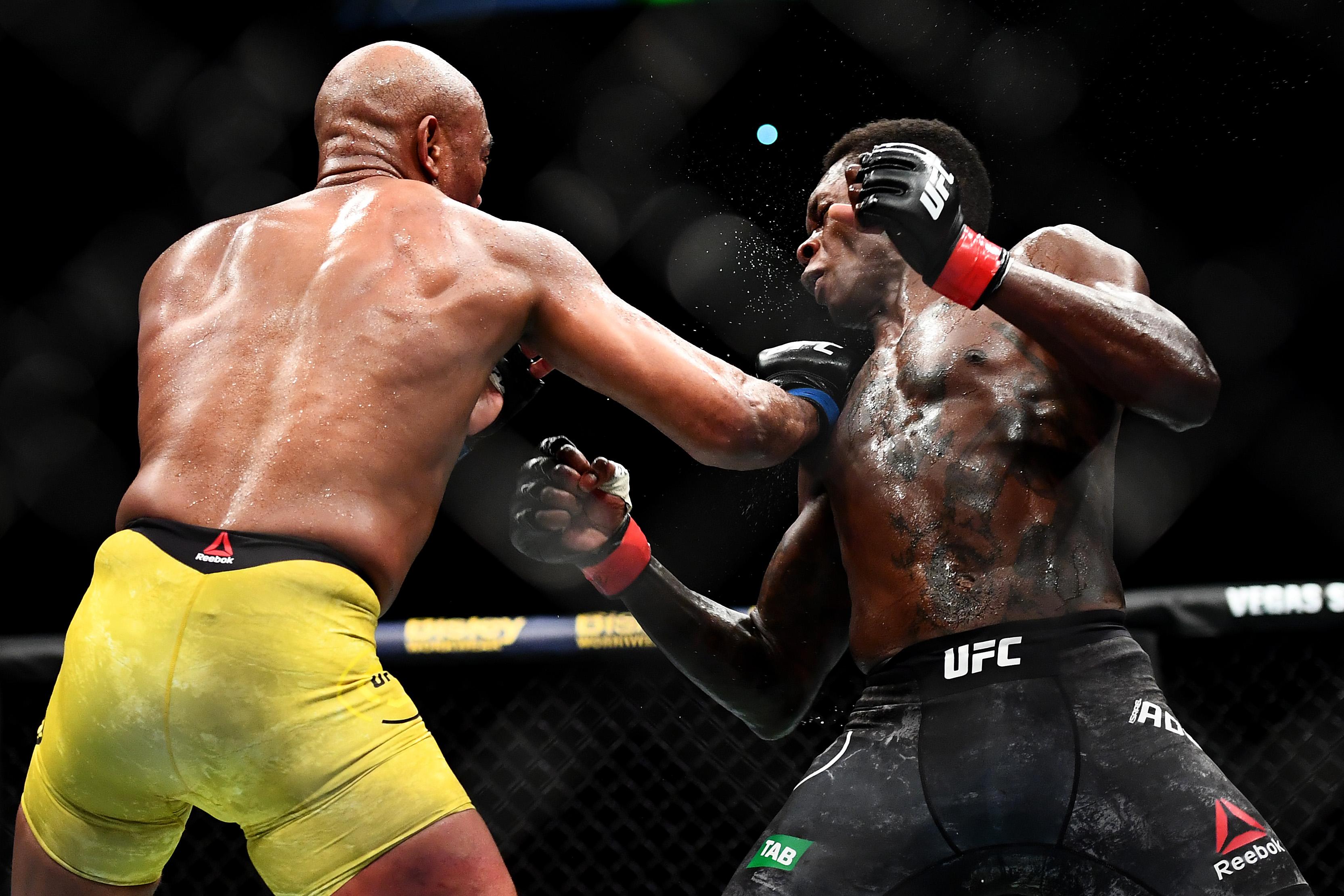UFC 234 Adesanya v Silva