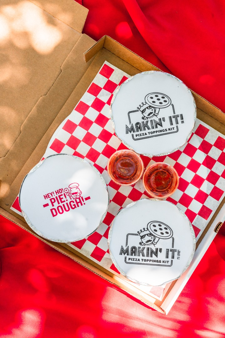 The pizza kit from Home Slice