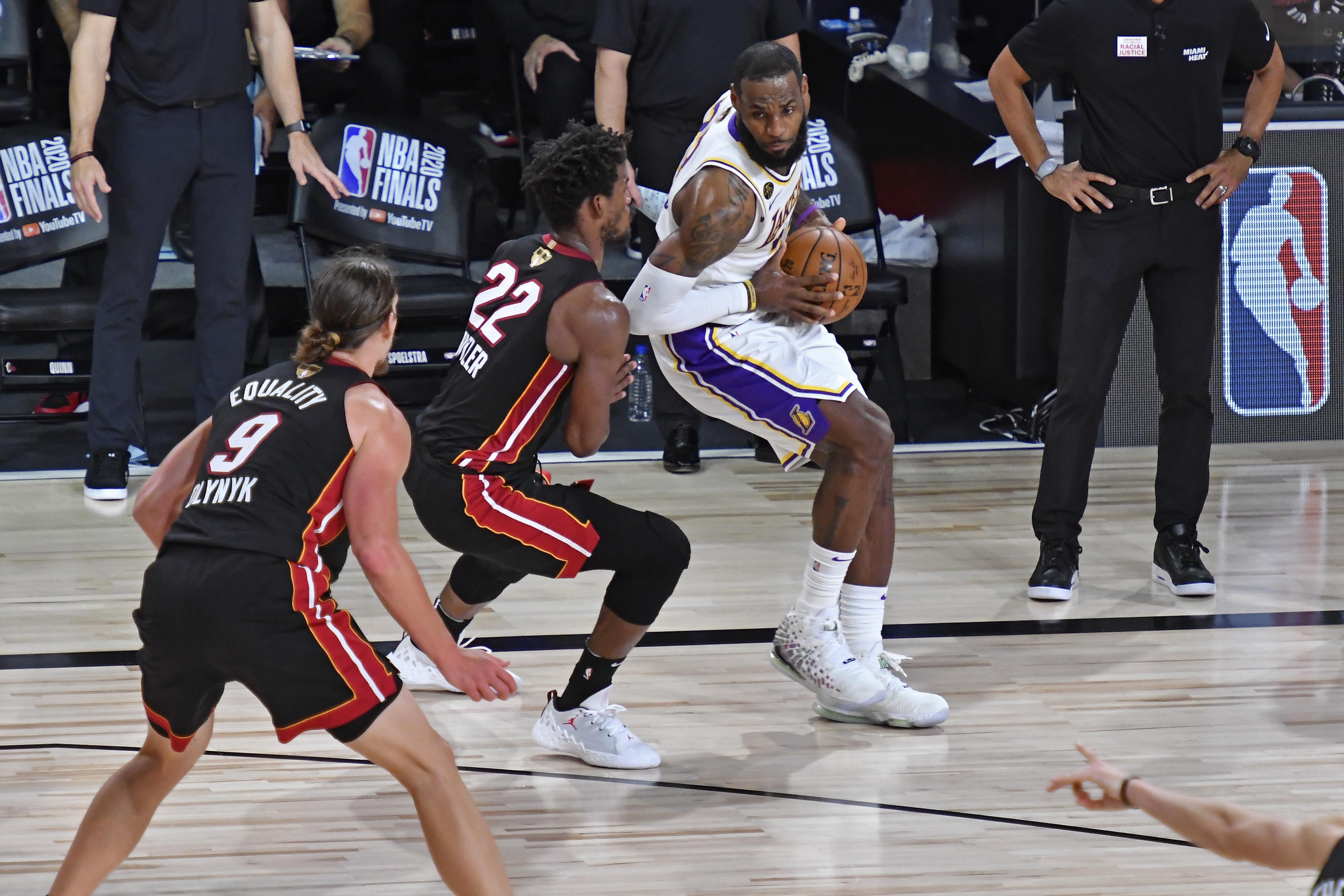 2020 NBA Finals - Los Angeles Lakers v Miami Heat