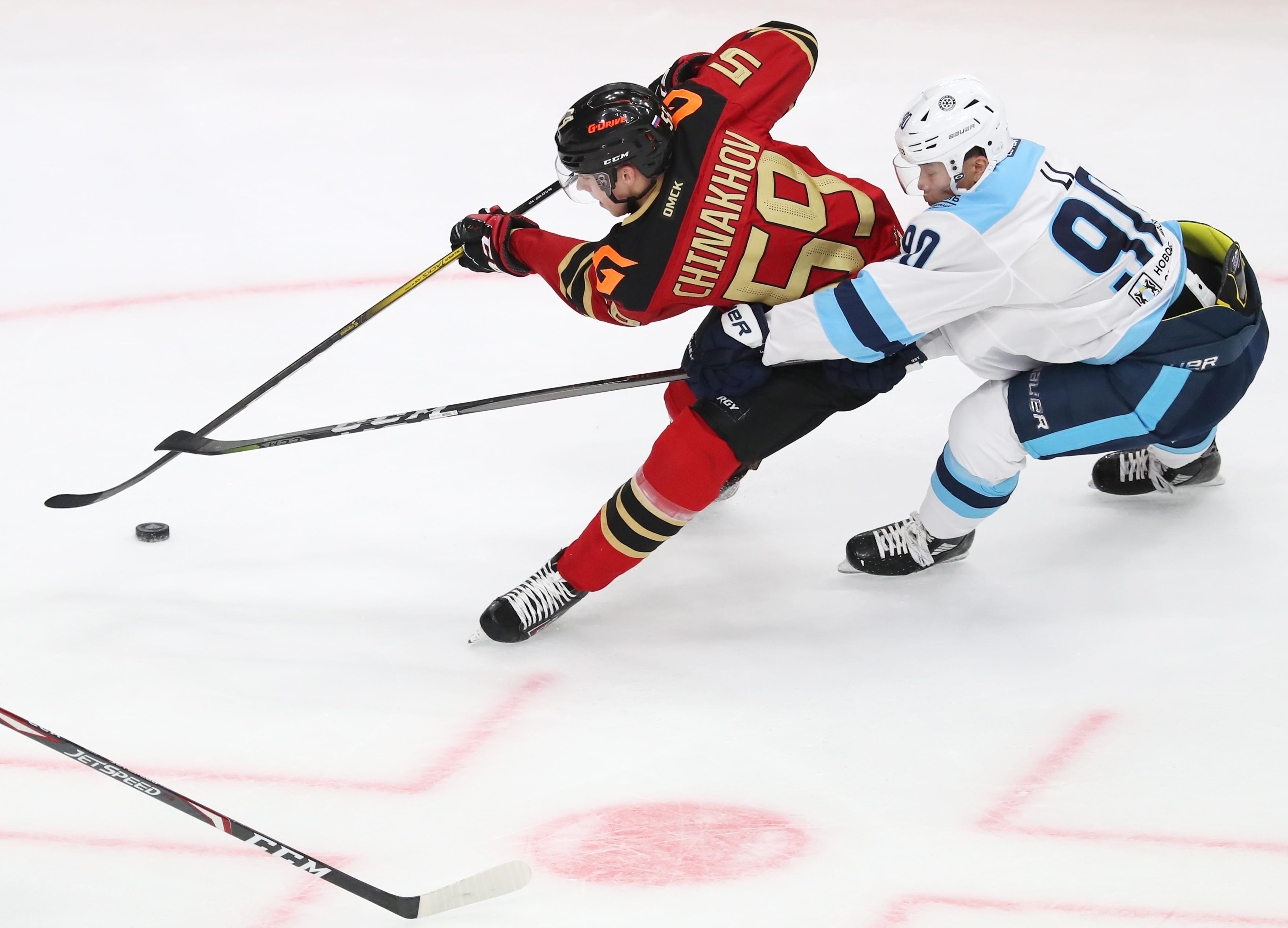 Kontinental Hockey League: Avangard Omsk vs Sibir Novosibirsk Region