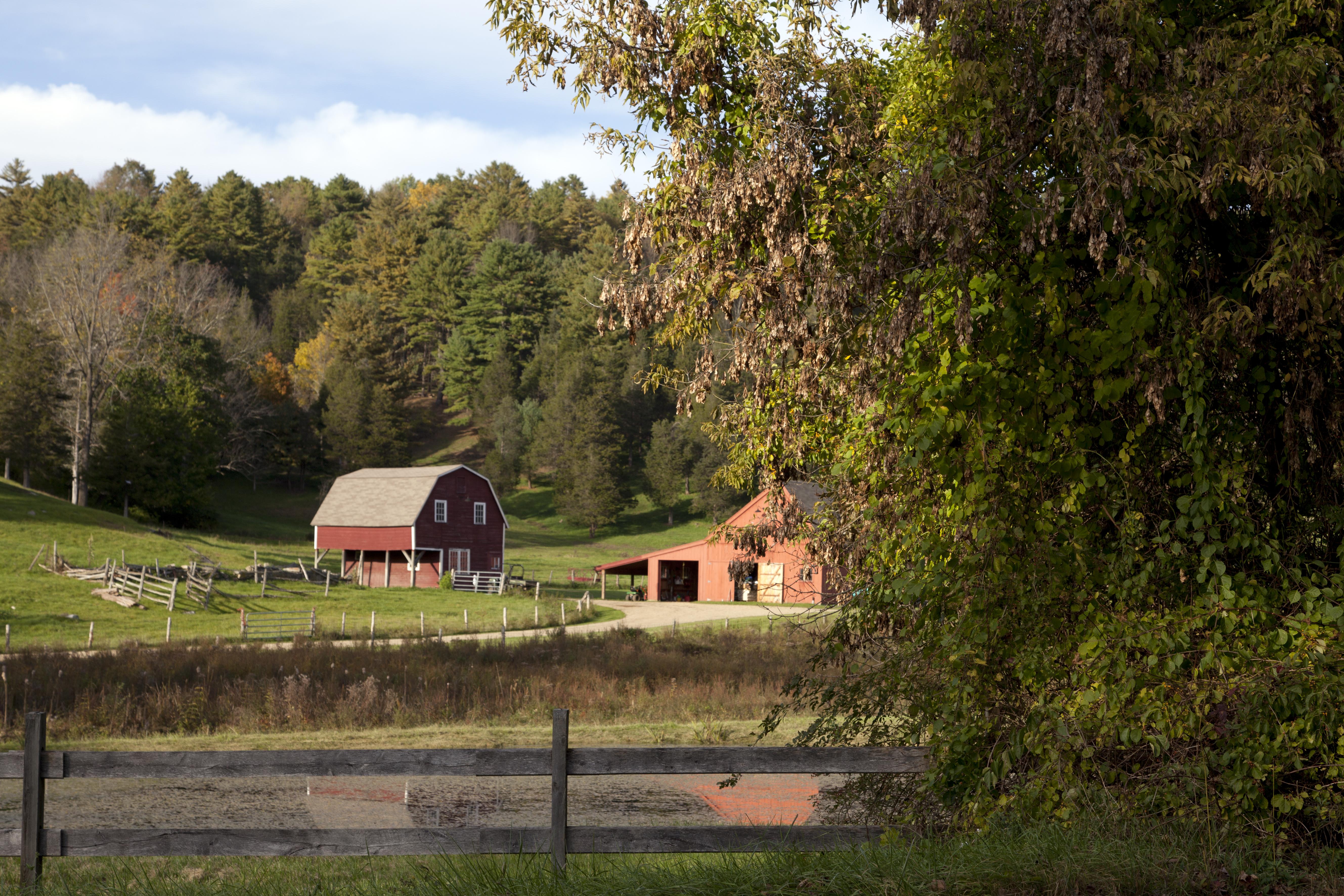 Barn in Falls Village, Connecticut